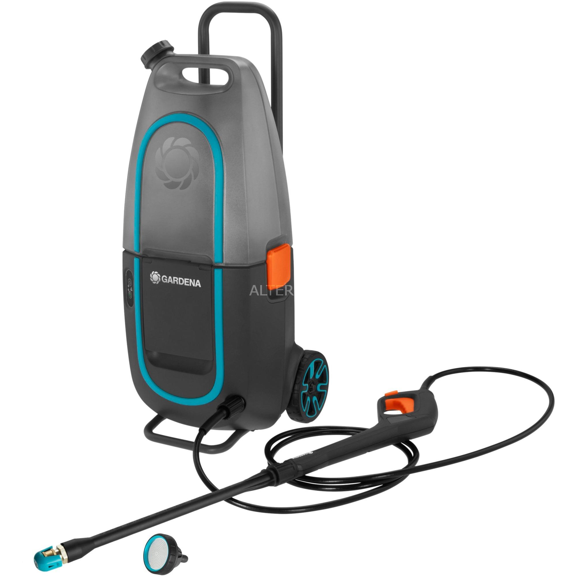 9341-55 Limpiadora de alta presión o Hidrolimpiadora Vertical Batería Negro, Hidrolimpiadora de alta presión