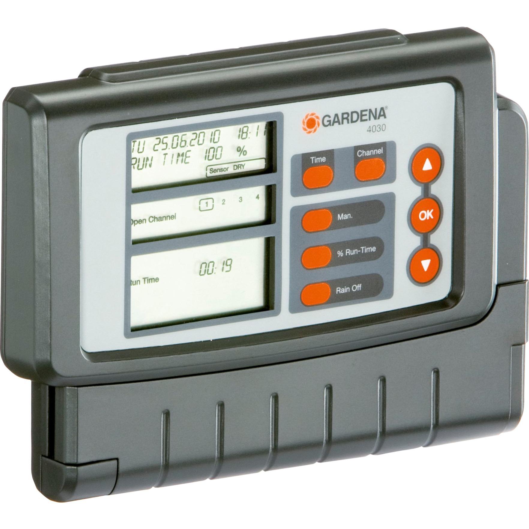 Classic 4030, Control del riego