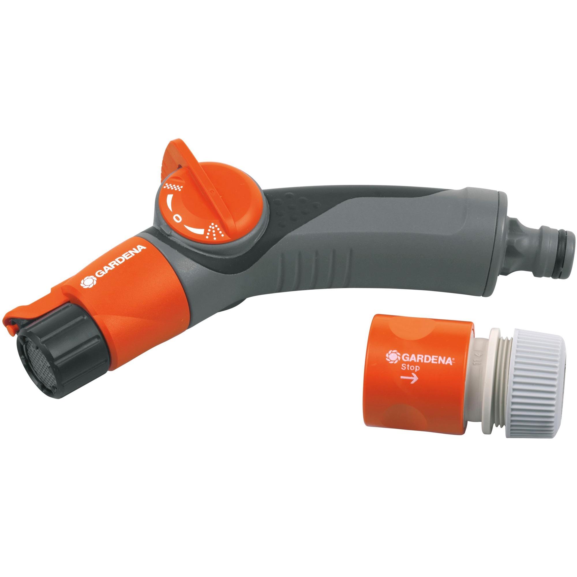 Comfort Duo Conector para rociador/pistola Gris, Naranja, Ducha