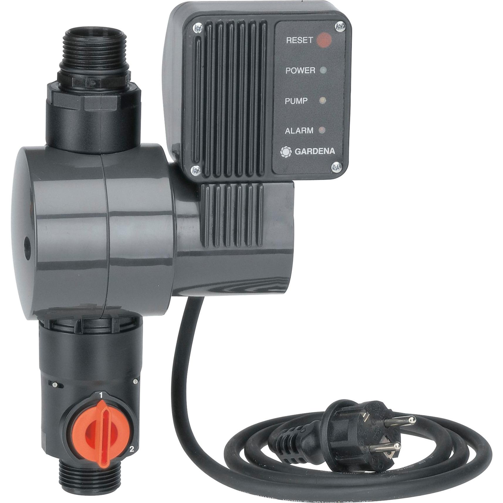 Interruptor manométrico electrónico con seguro de bombeo en vacío