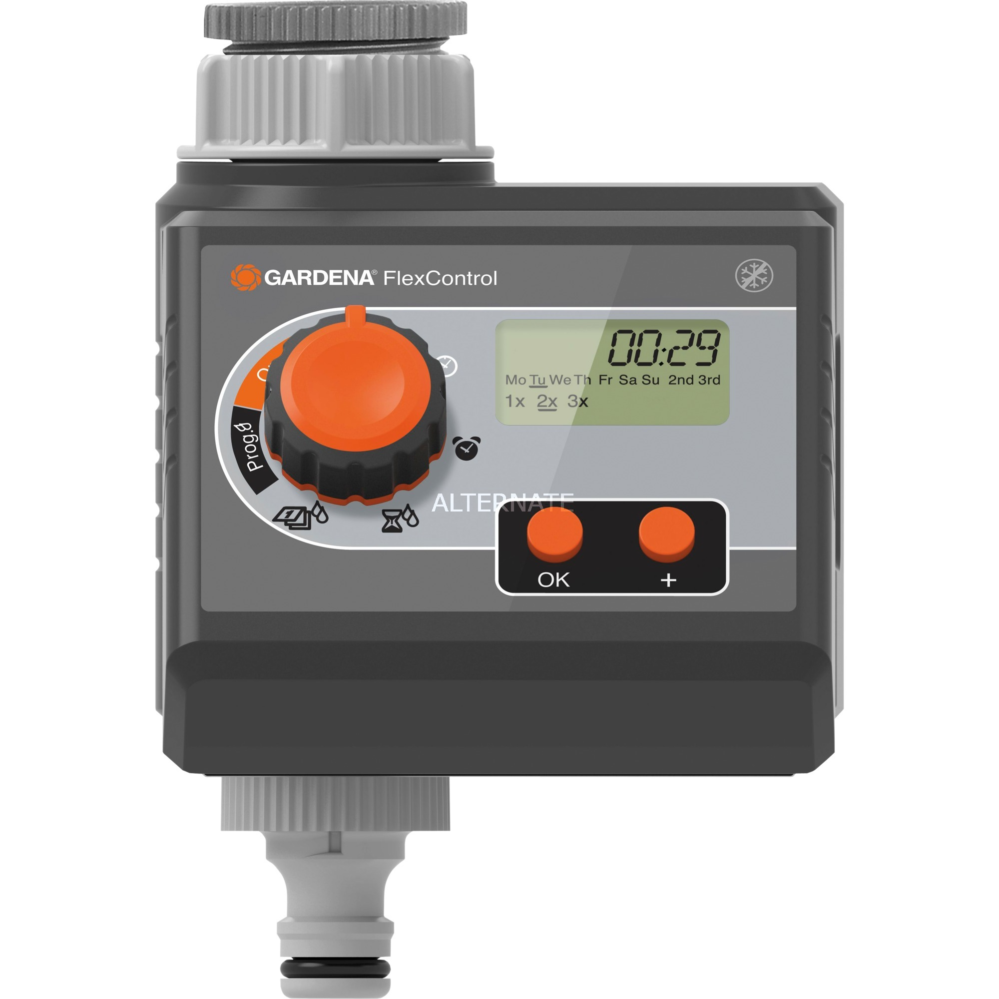 Programador de agua FlexControl, Control del riego
