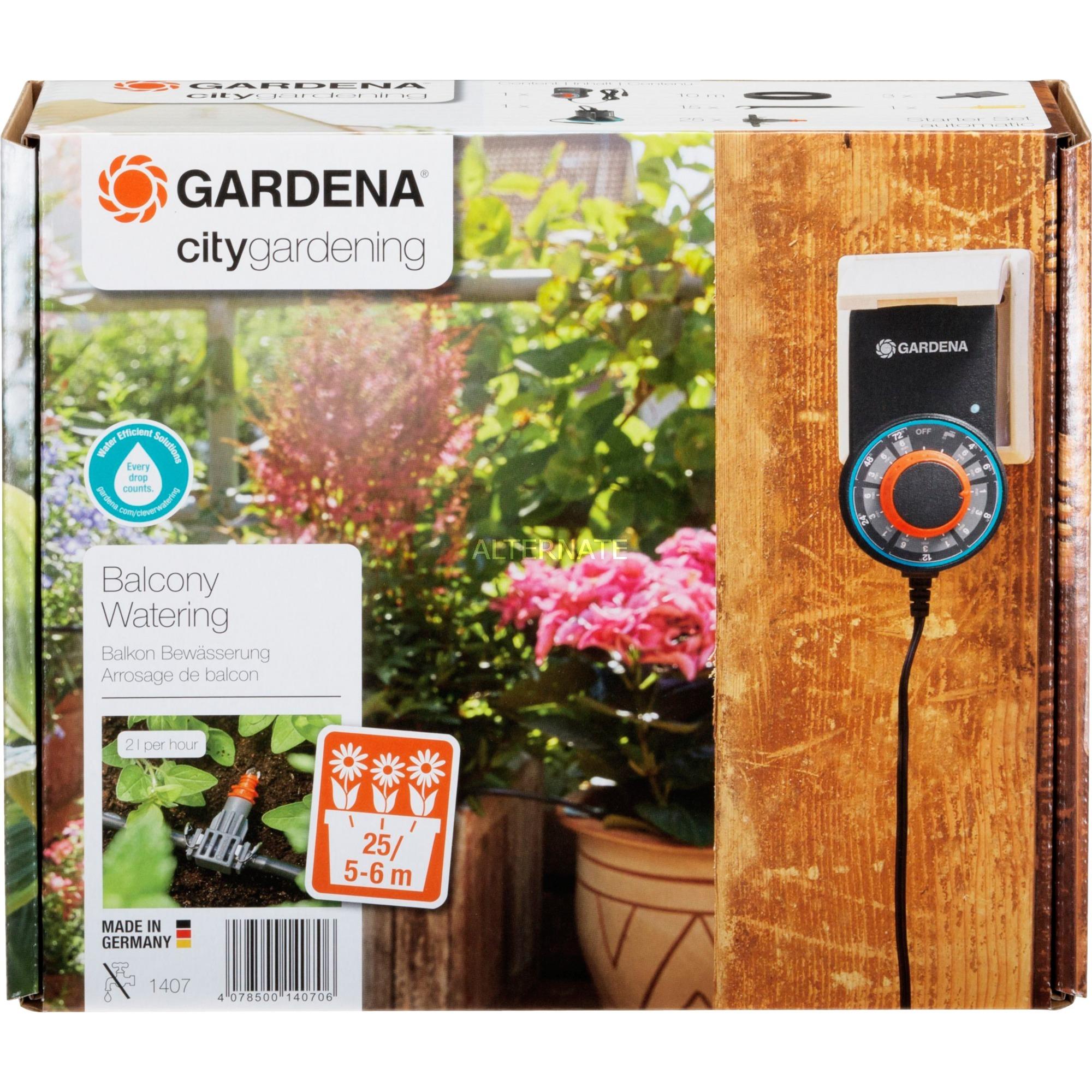 Riego automático para jardineras , Máquina de riego