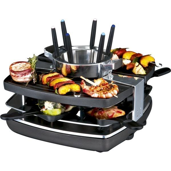 42559 fondue, gourmet y wok, Raclette