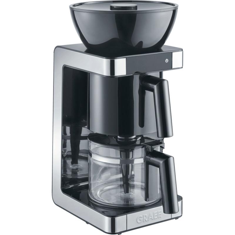 FK 702 Independiente Semi-automática Cafetera de filtro 1.25L 10tazas Negro