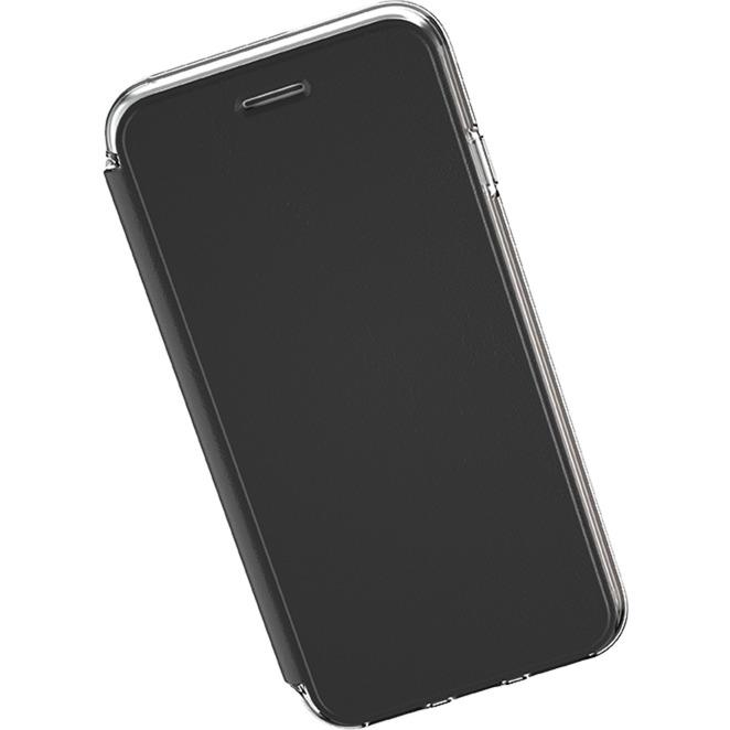 "GB42754 5.5"" Funda cartera Negro, Transparente funda para teléfono móvil, Funda protectora"
