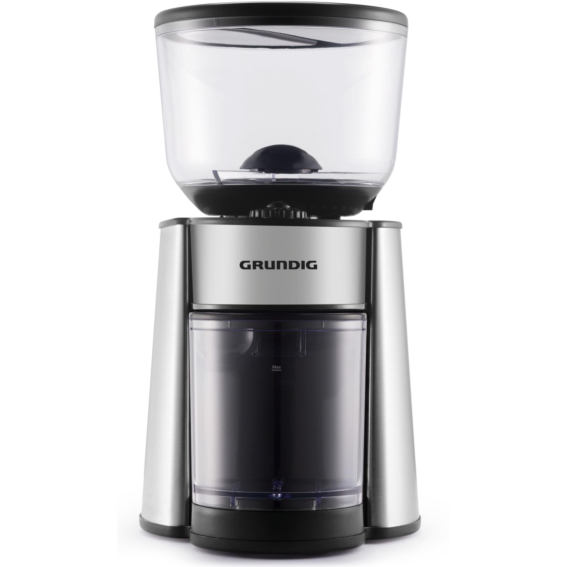 CM 6760 molinillo de café Negro, Acero inoxidable