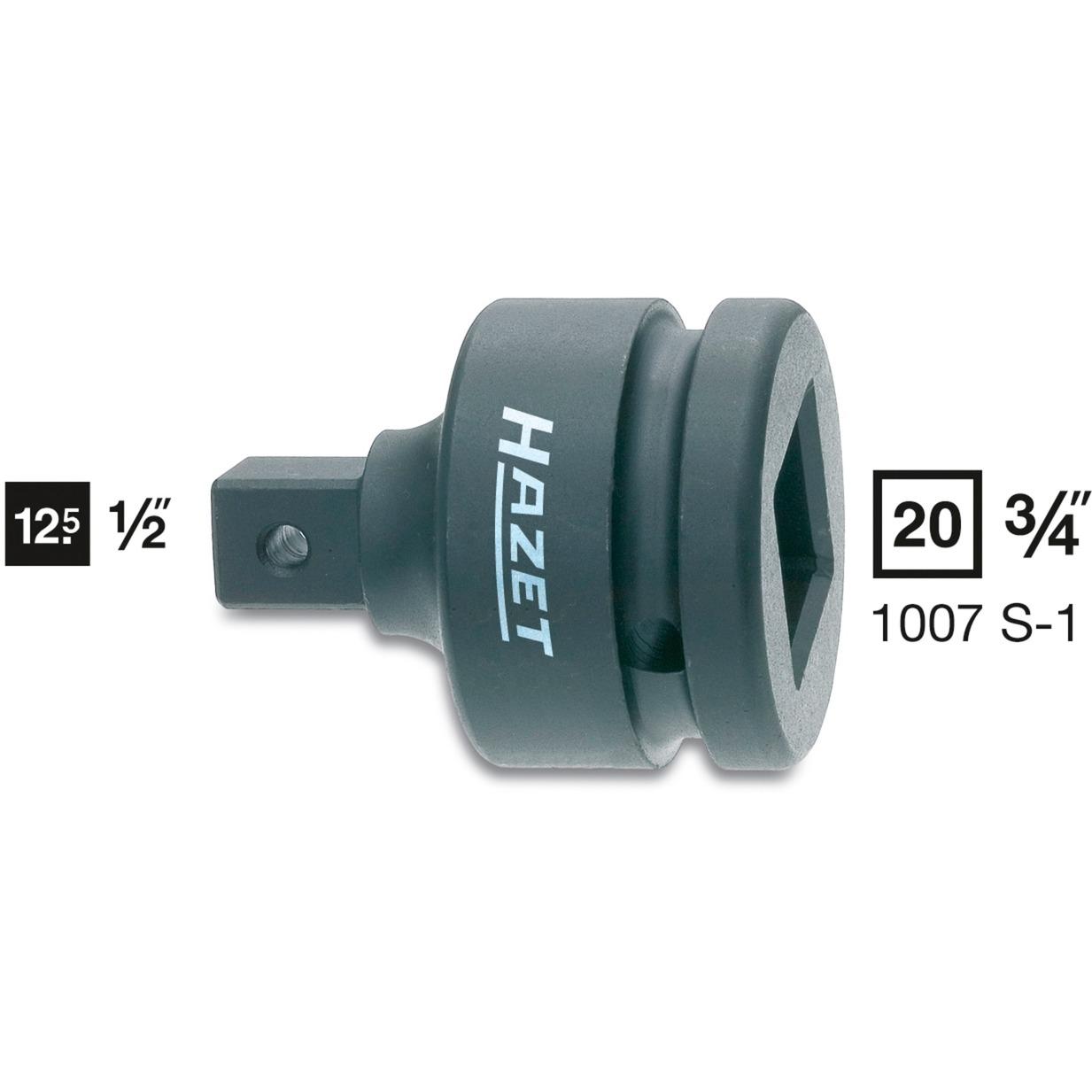 1007S-1 llave de tuercas 1 pieza(s), Adaptador de tuerca spinner