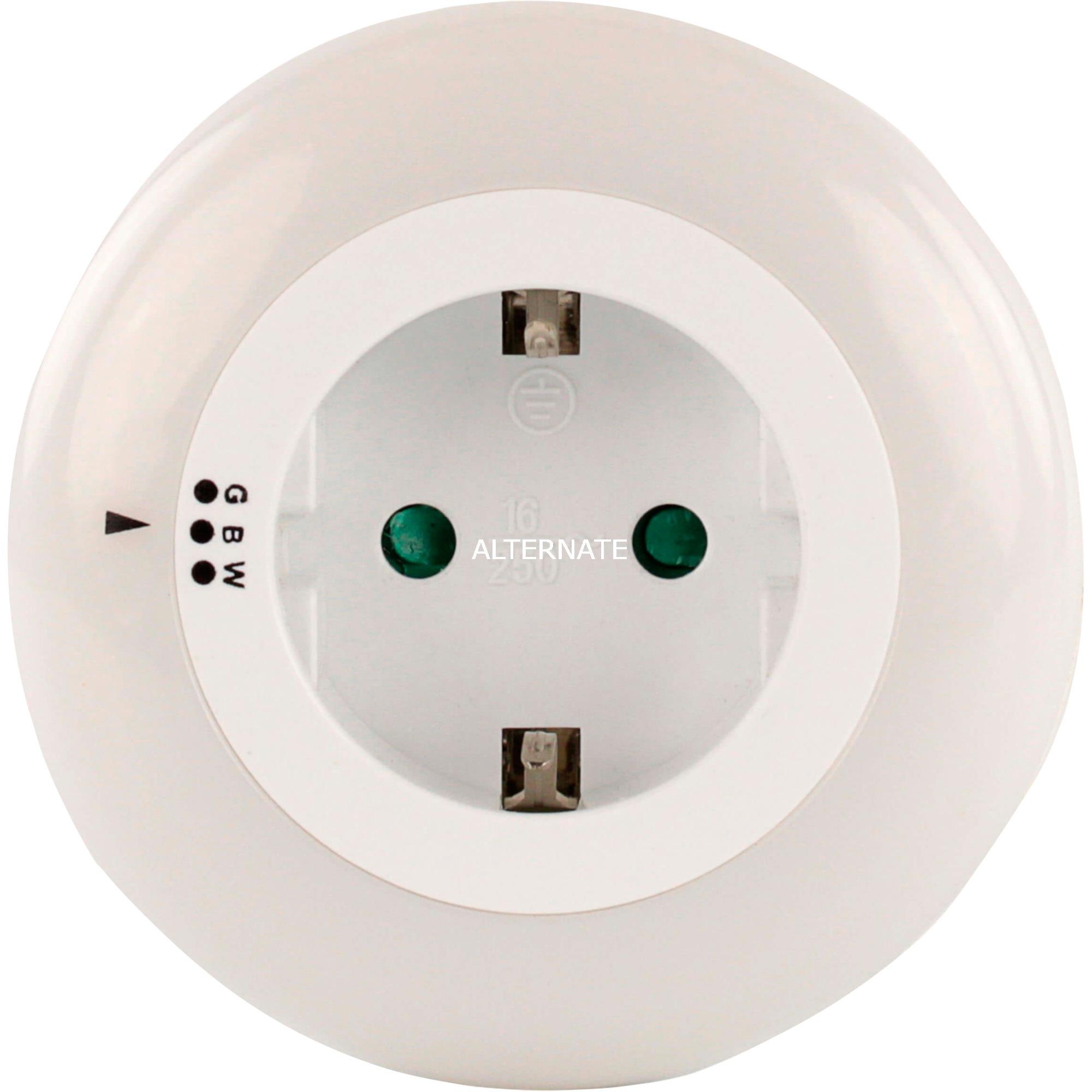 Nightlight Orbit 3 Tipo C (Europlug) Tipo C (Europlug) Azul, Verde, Blanco adaptador de enchufe eléctrico, Luz de noche