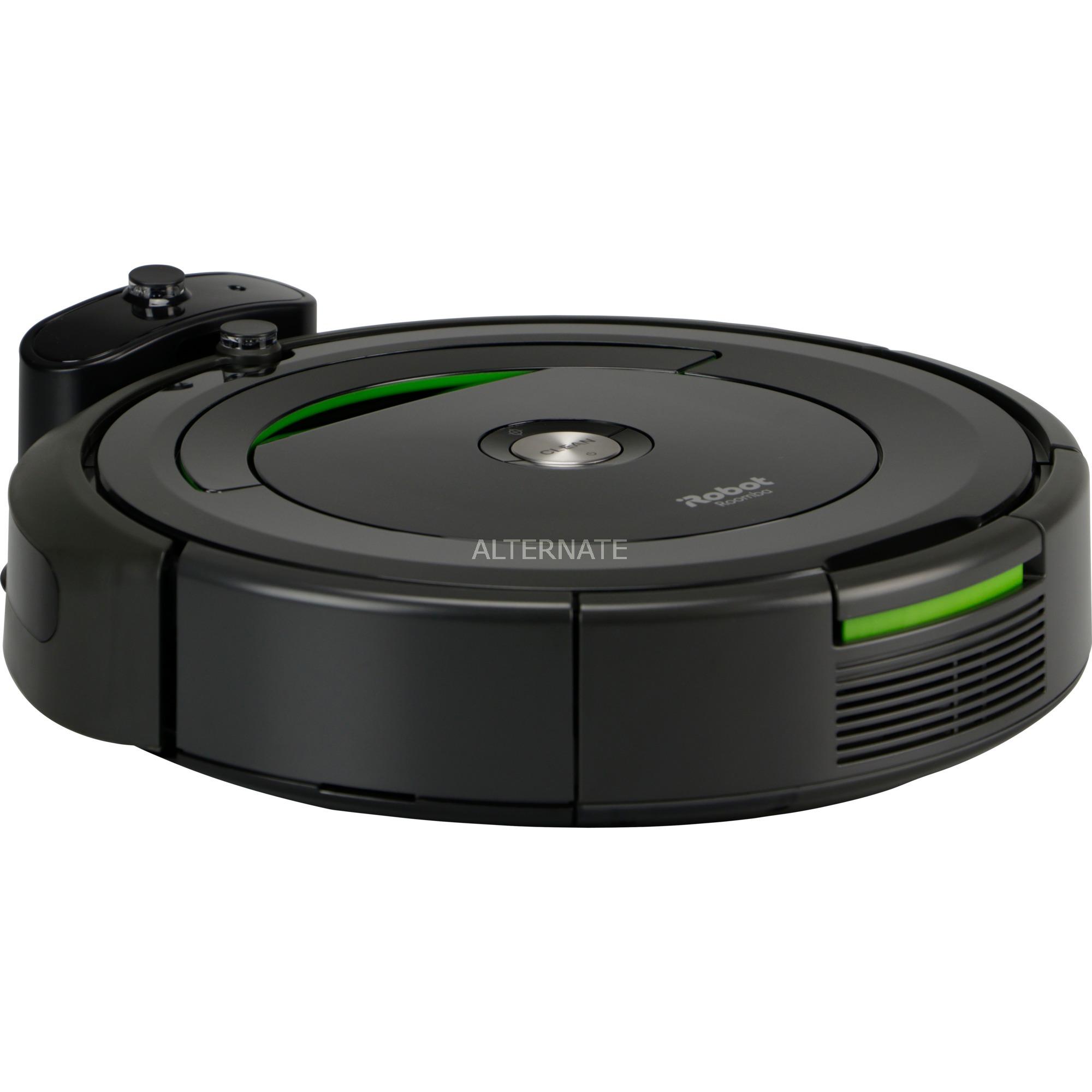 Roomba 696 aspiradora robotizada Negro, Robot aspirador