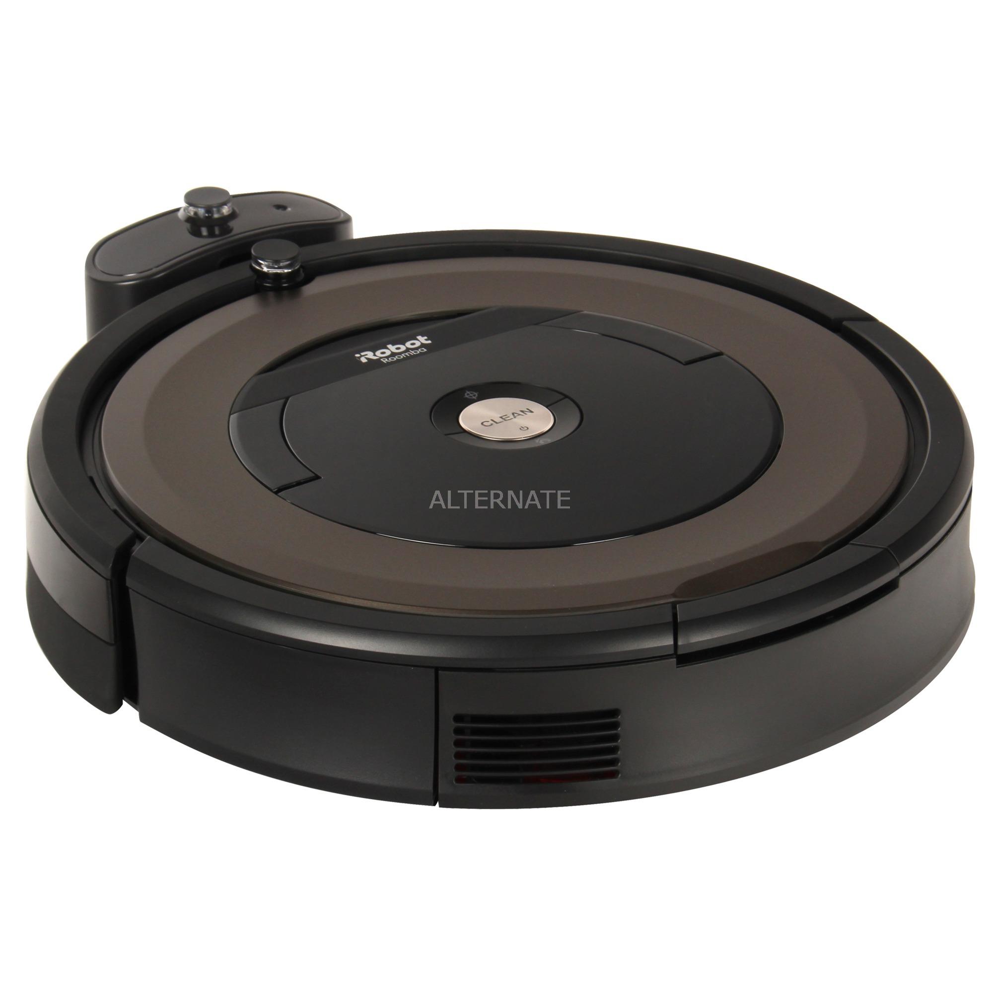 Roomba 896 aspiradora robotizada Negro, Marrón 0,6 L, Robot aspirador