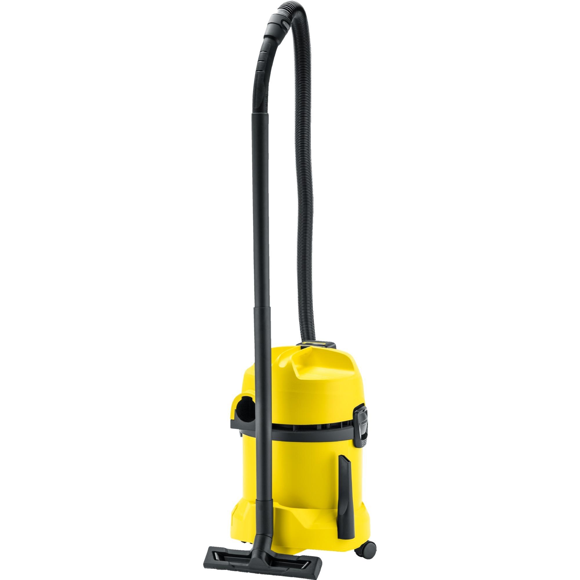 1.629-910.0 extractor de polvo 17 L 300 W Negro, Amarillo, Aspiradora en húmedo y en seco