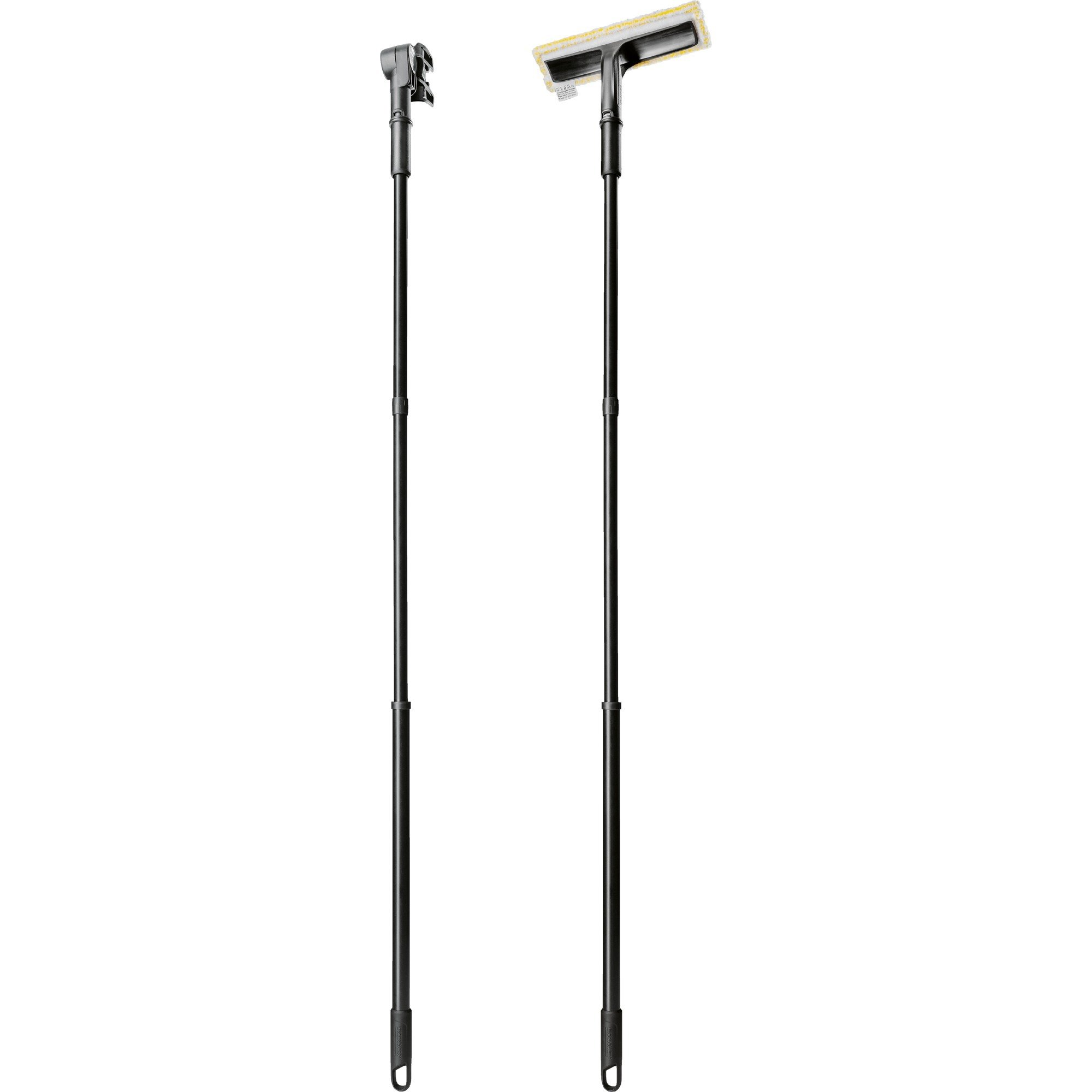 2.633-144.0 accesorio para trapeador Mop handle Negro, Extensión