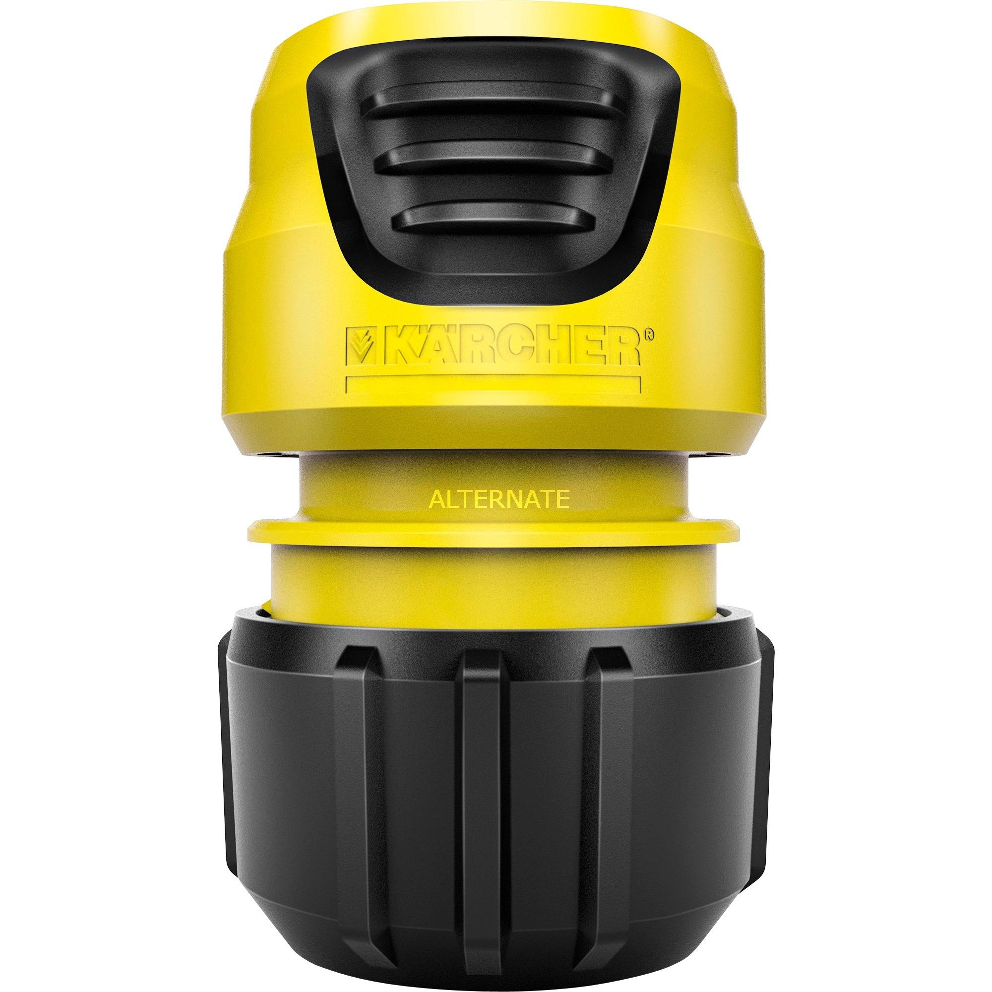 2.645-203.0 De plástico Negro, Amarillo 1pieza(s) accesorio para manguera, Pieza de manguera