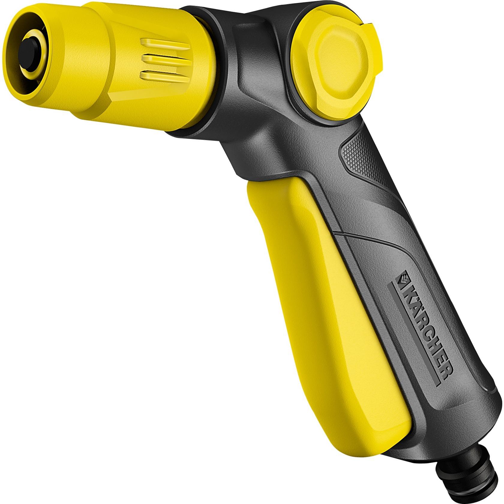 2.645-265.0 pistola de pulverización de agua o boquilla Pistola pulverizadora de agua para jardín Negro, Amarillo, Inyección