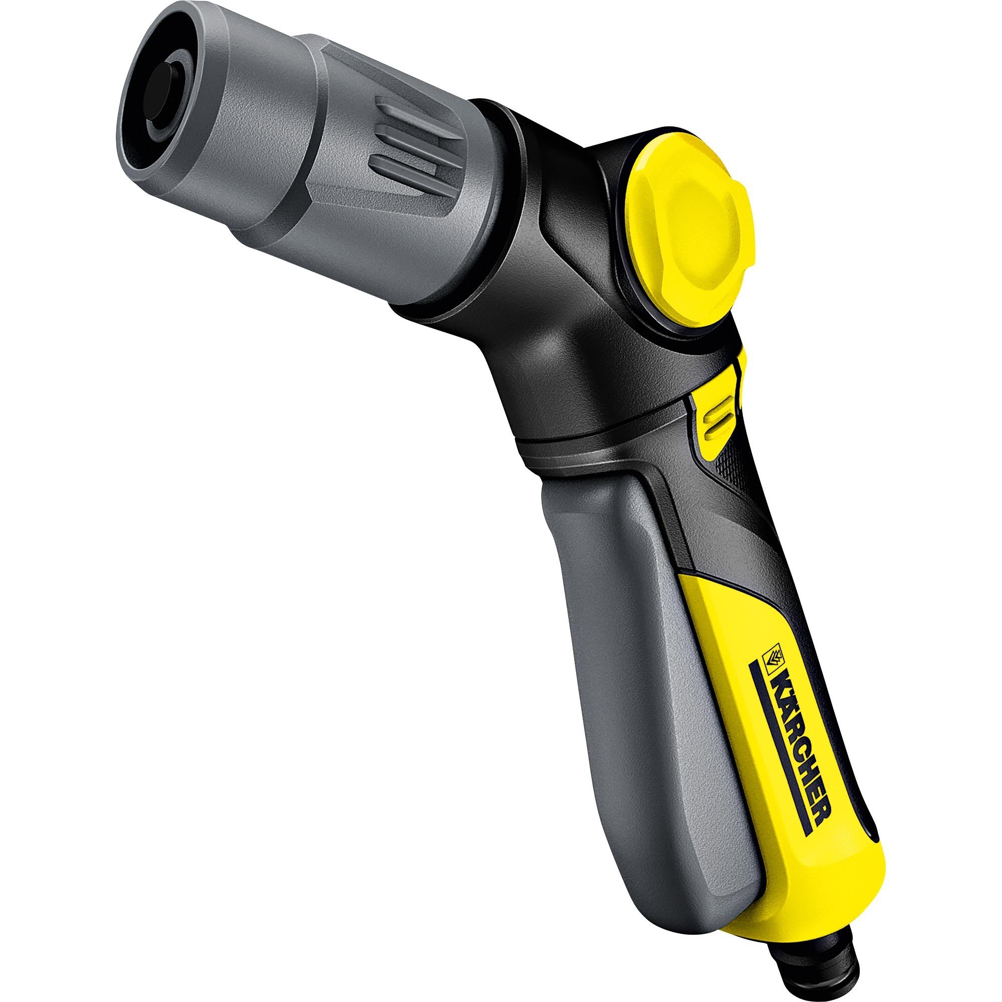 2.645-268.0 Garden water spray gun Negro, Gris, Amarillo pistola de pulverización de agua o boquilla, Inyección