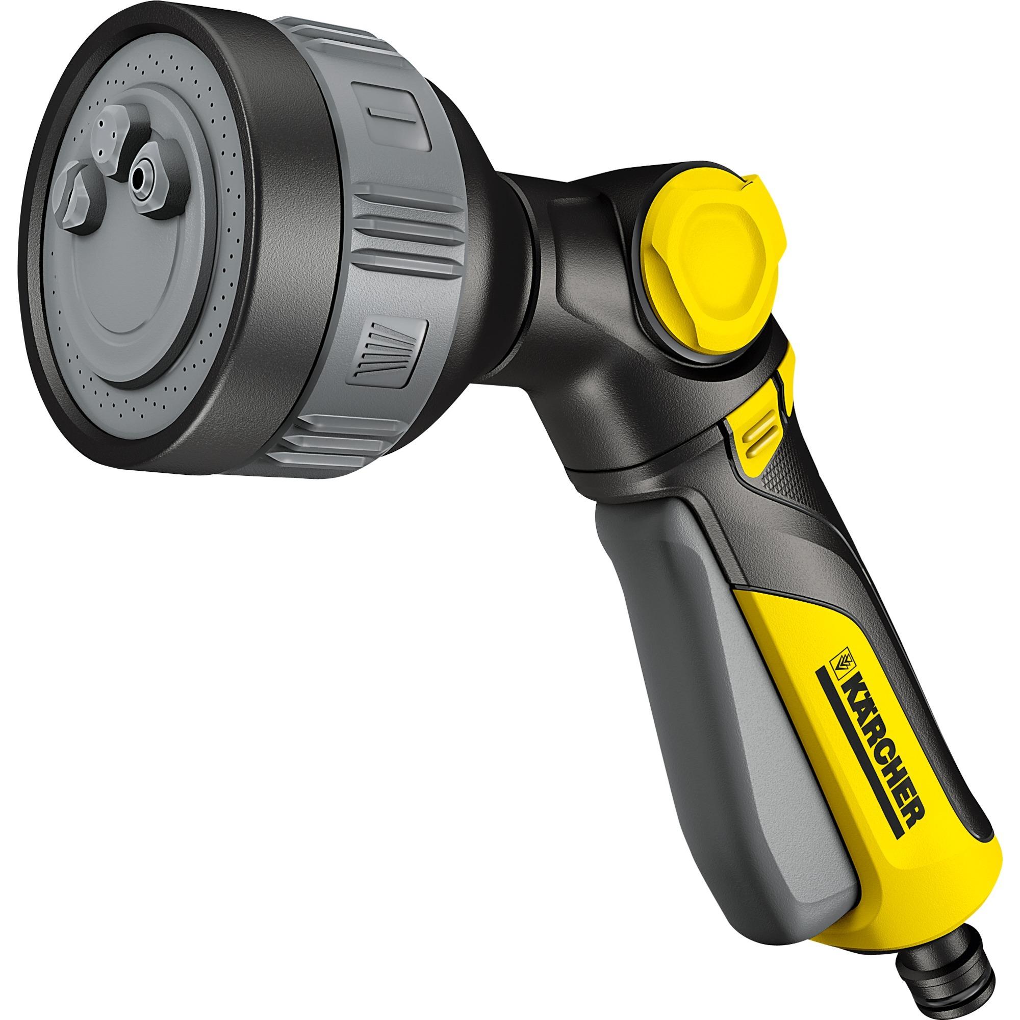 2.645-269.0 pistola de pulverización de agua o boquilla Pistola pulverizadora de agua para jardín Negro, Amarillo, Ducha