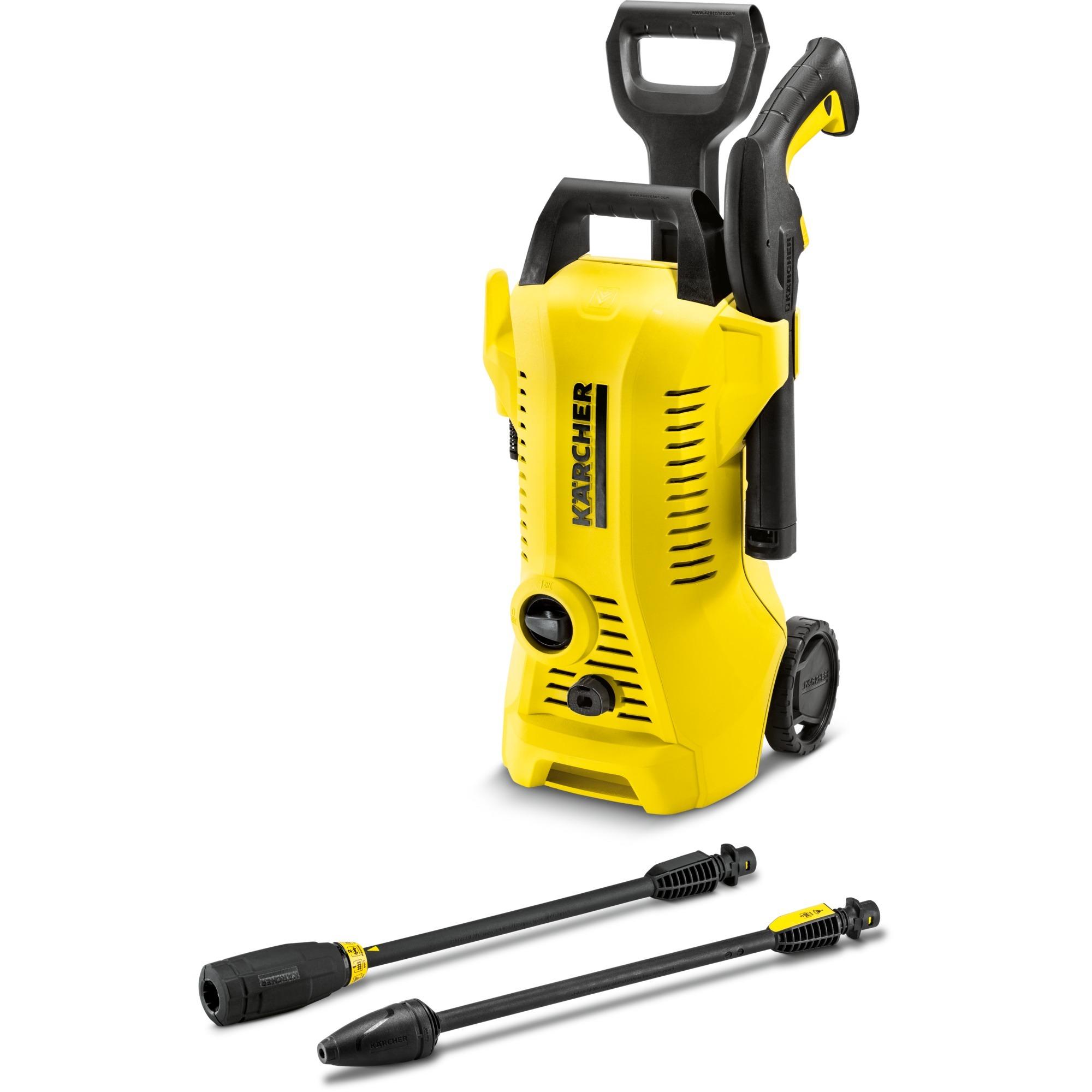 K 2 Full Control Vertical Eléctrico 6l/h 1400W Negro, Amarillo Limpiadora de alta presión o Hidrolimpiadora, Hidrolimpiadora de alta presión