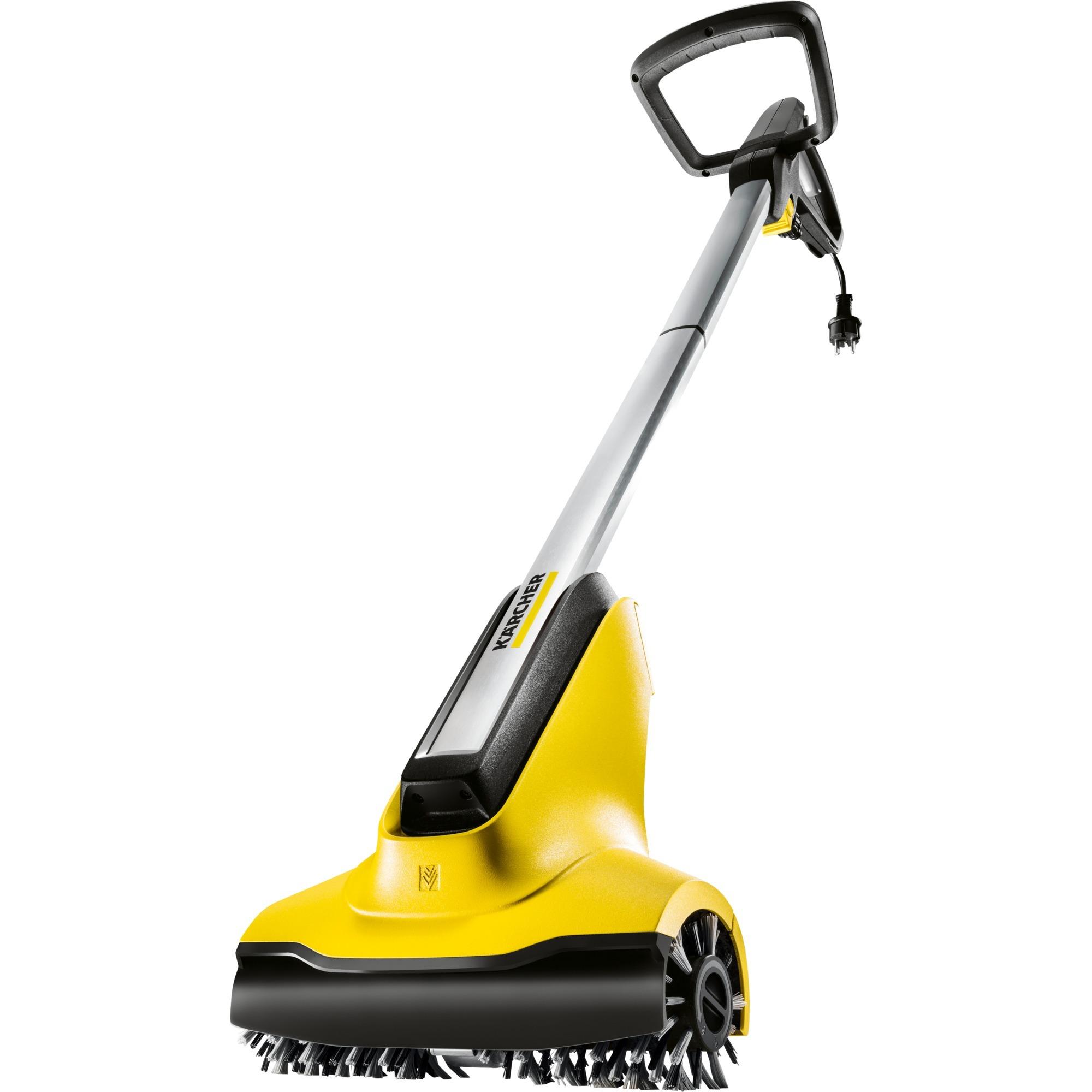 PCL 4 Terassenreiniger pulidor de suelo Negro, Amarillo 800 RPM, Máquinas barredoras