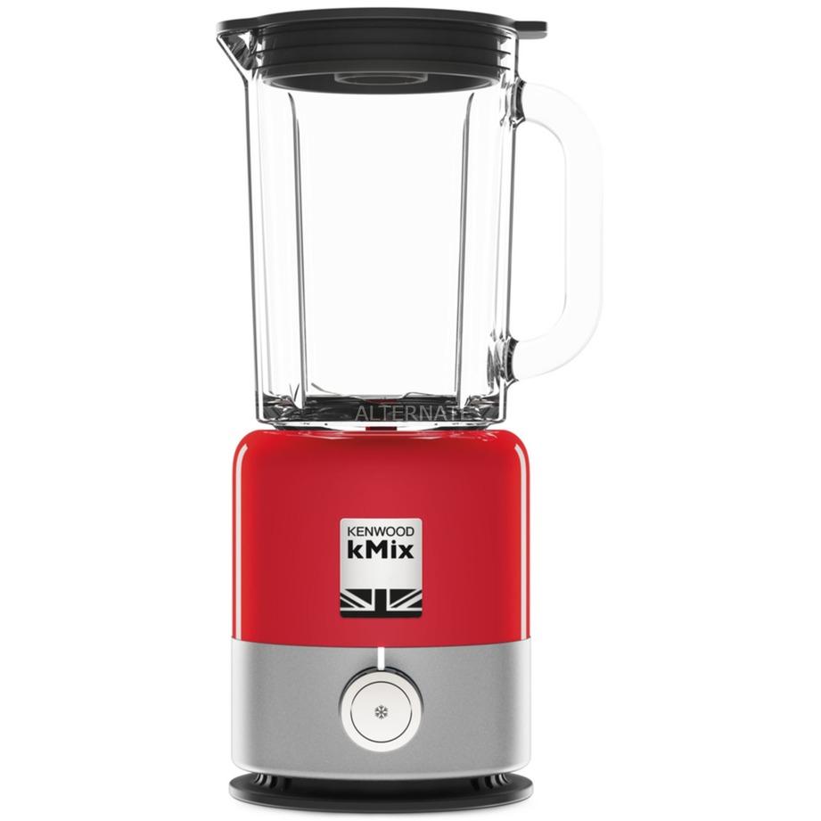 BLX750RD licuadora 1,6 L Batidora de vaso Rojo, Plata 800 W, Batidora depie