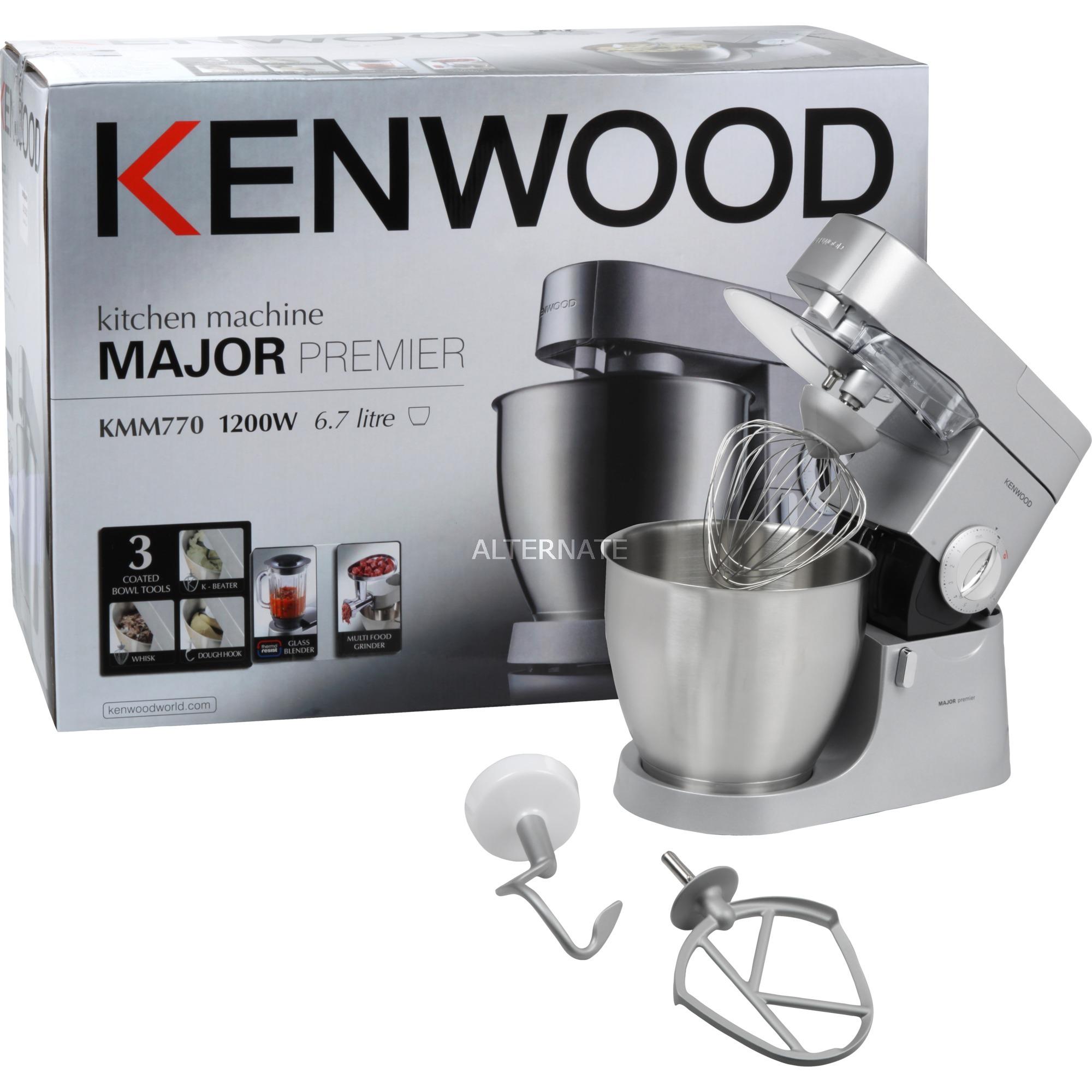 Chef Major Premier KMM770 1200W 6.7L Plata robot de cocina