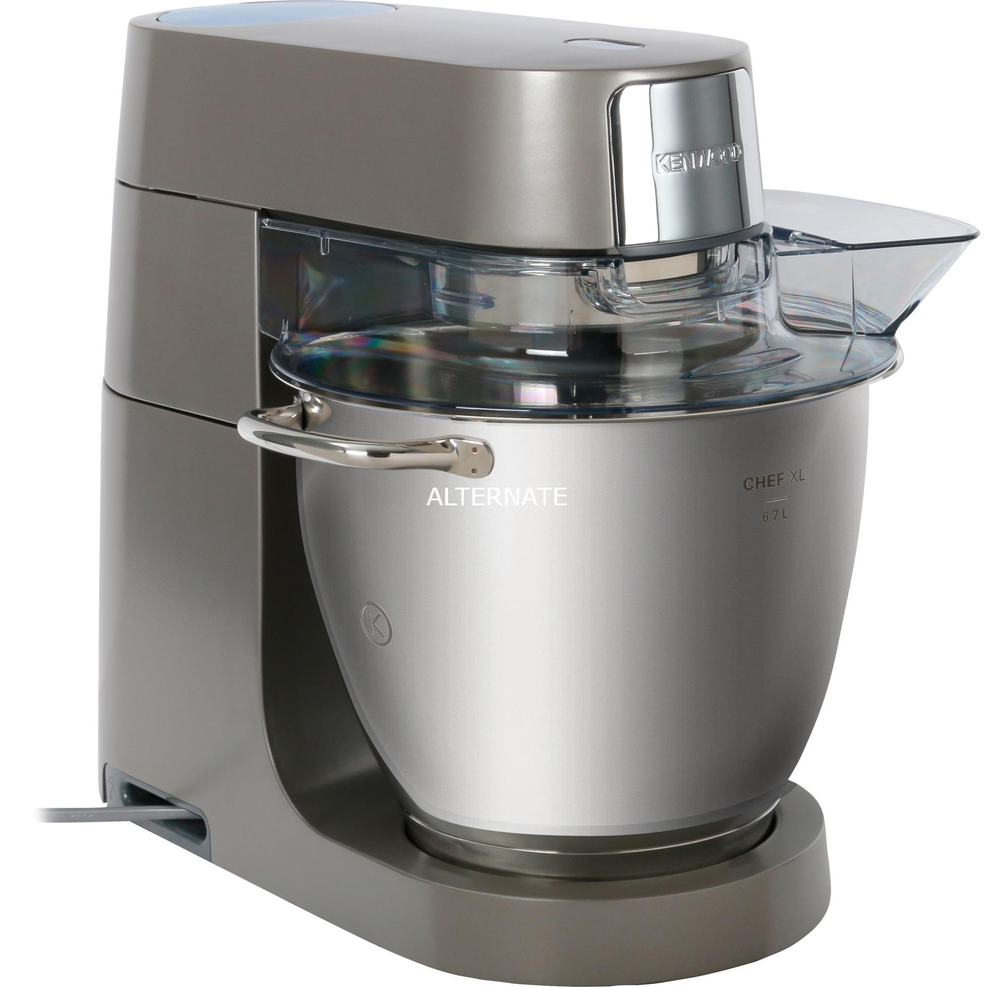 Chef XL KVL4110S Batidora de varillas 1200W Plata, Robot de cocina