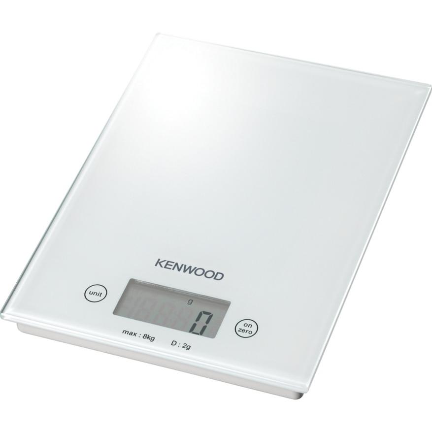 DS401 Báscula electrónica de cocina Blanco Mesa, Balanza de cocina