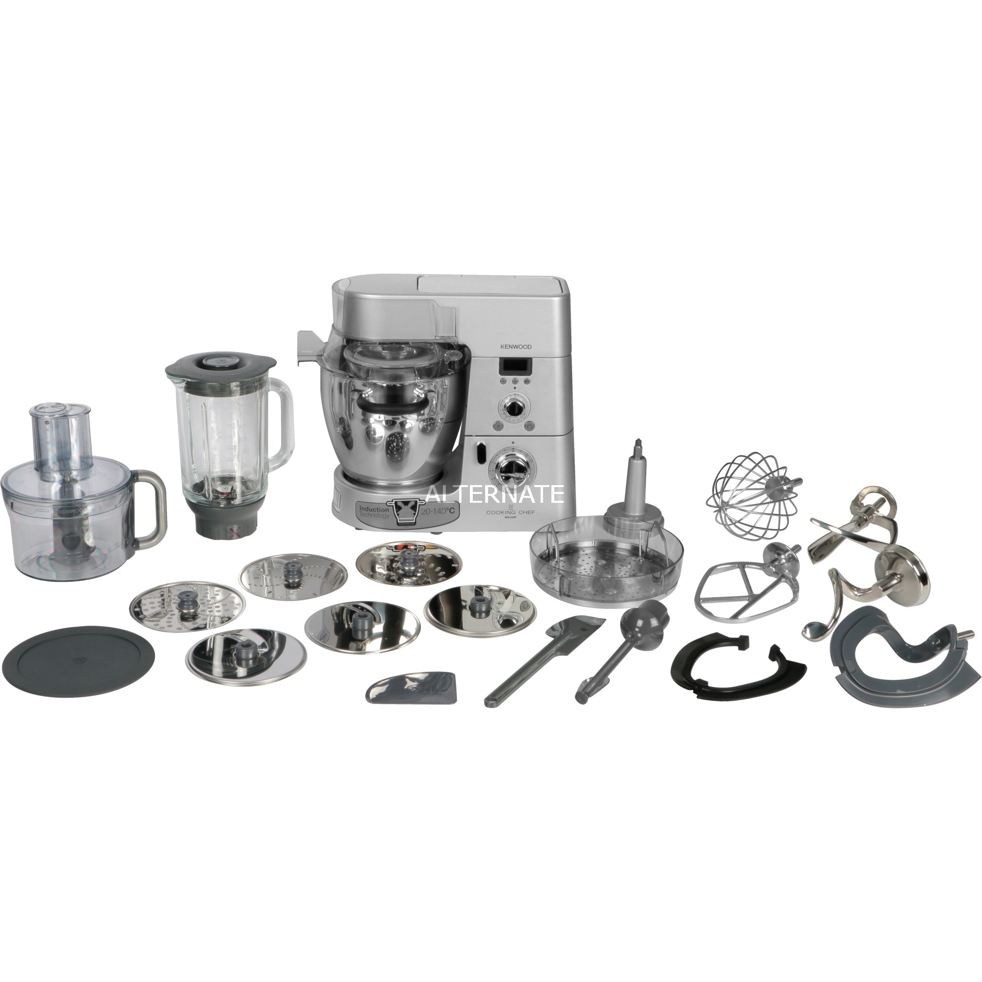 KM096 1500W 6.7L Plata robot de cocina