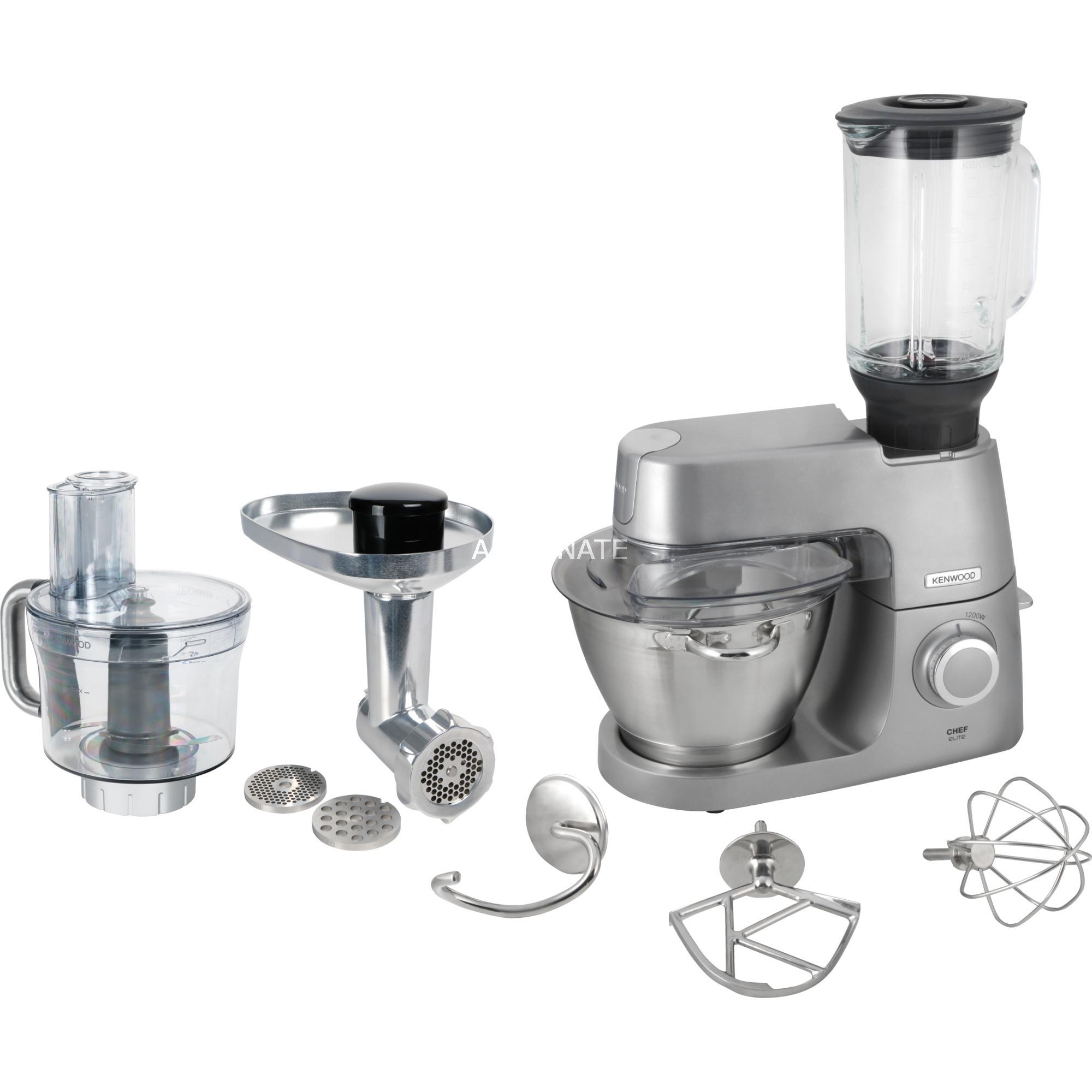 KVC 5401.S EX O robot de cocina 4,6 L Plata 1200 W