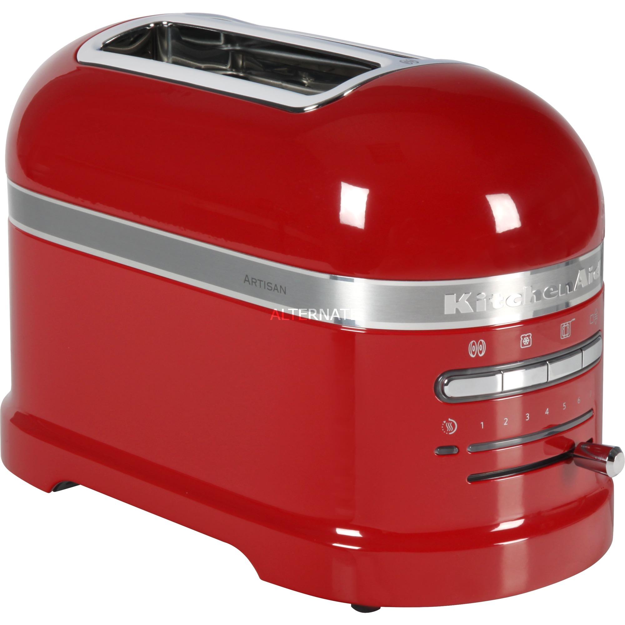 5KMT2204EER 2slice(s) 1250W Rojo tostadora