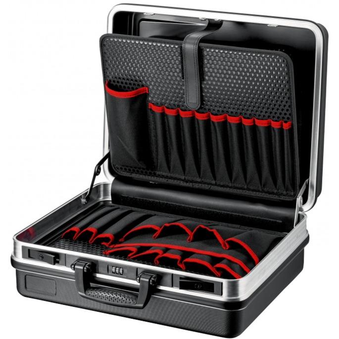 00 21 05 LE Negro Acrilonitrilo butadieno estireno (ABS) bolsa y funda de herramientas, Caja de herramientas