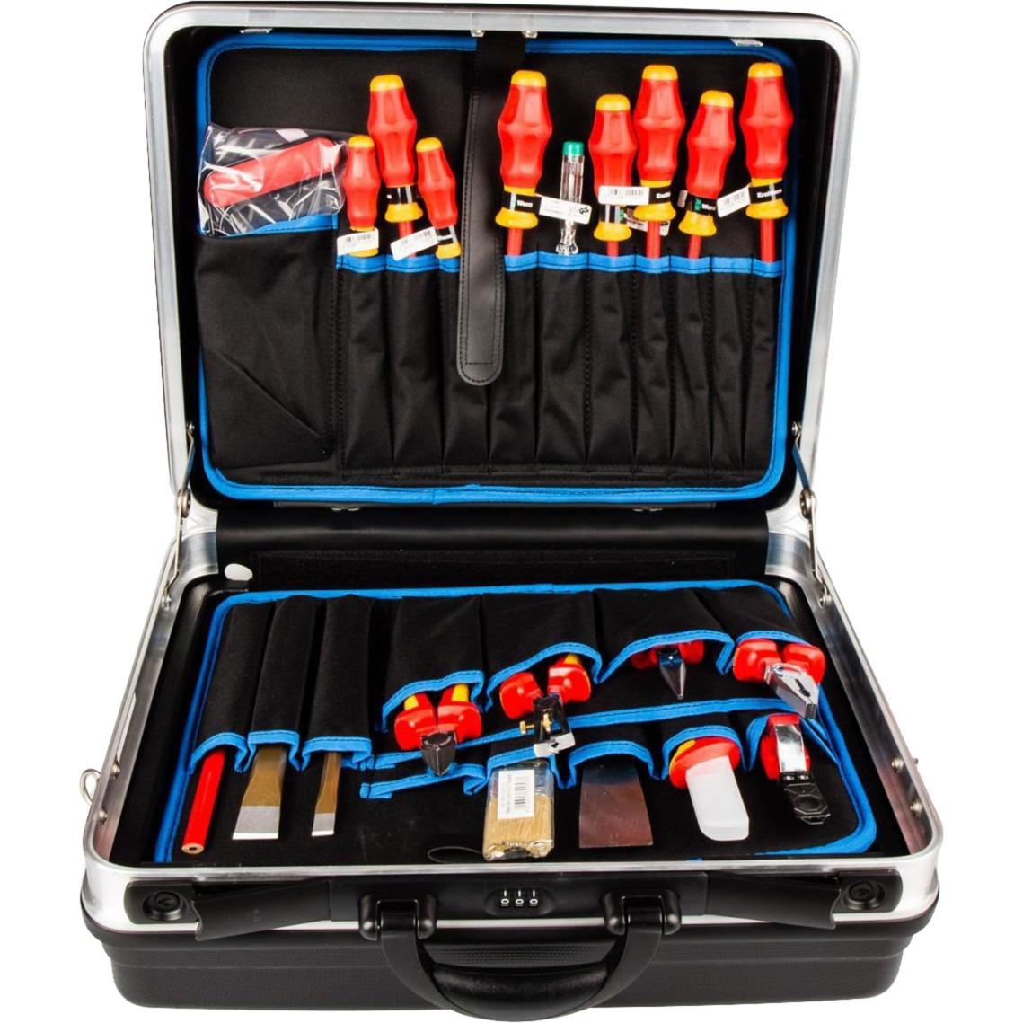 00 21 05 LE Negro Acrilonitrilo butadieno estireno (ABS) bolsa y funda de herramientas, Kit de herramientas