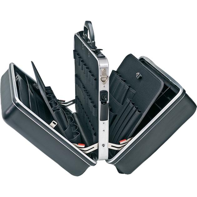 00 21 40 LE Negro Acrilonitrilo butadieno estireno (ABS) bolsa y funda de herramientas, Caja de herramientas