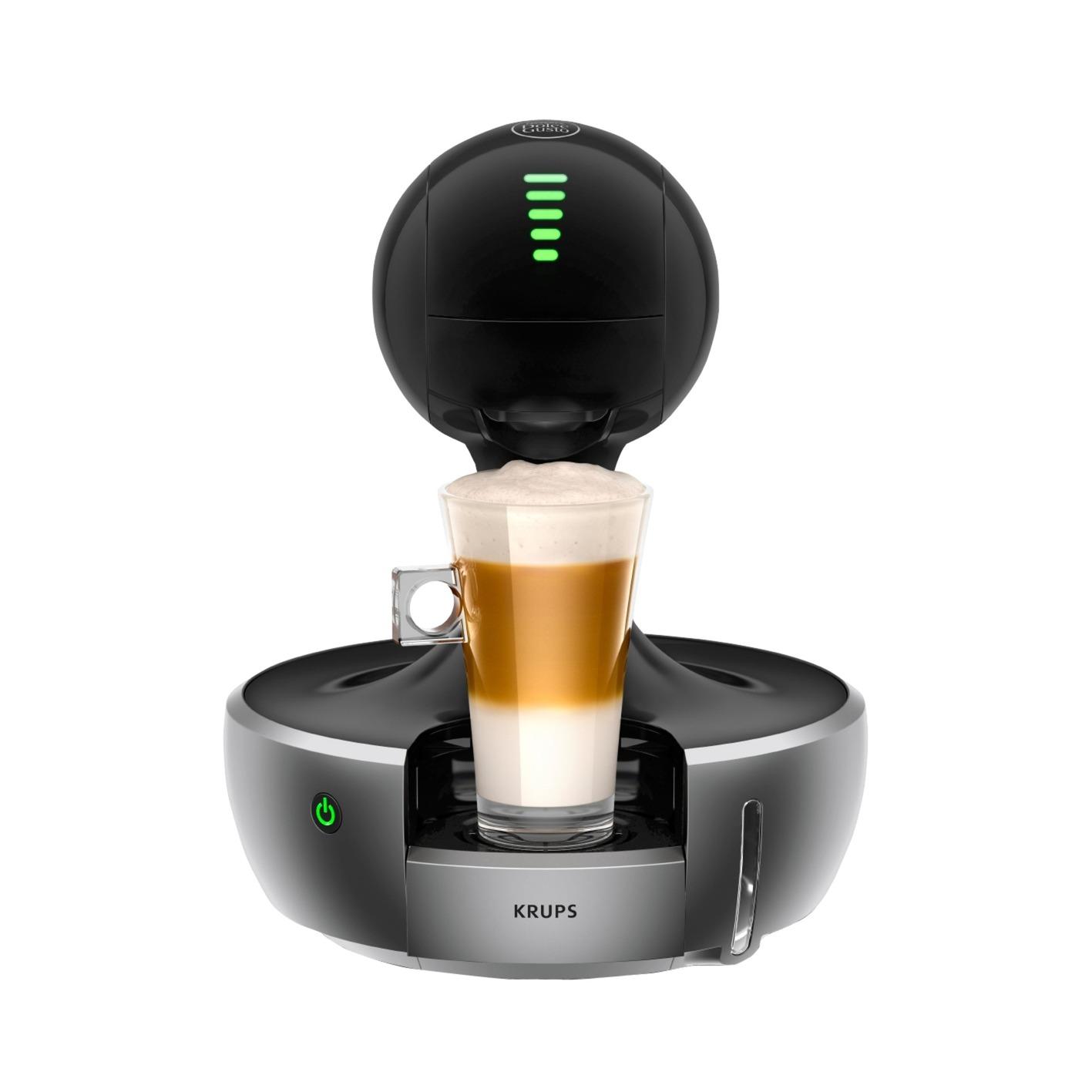 Drop Encimera Máquina de café en cápsulas 0,8 L Totalmente automática, Cafetera de cápsulas