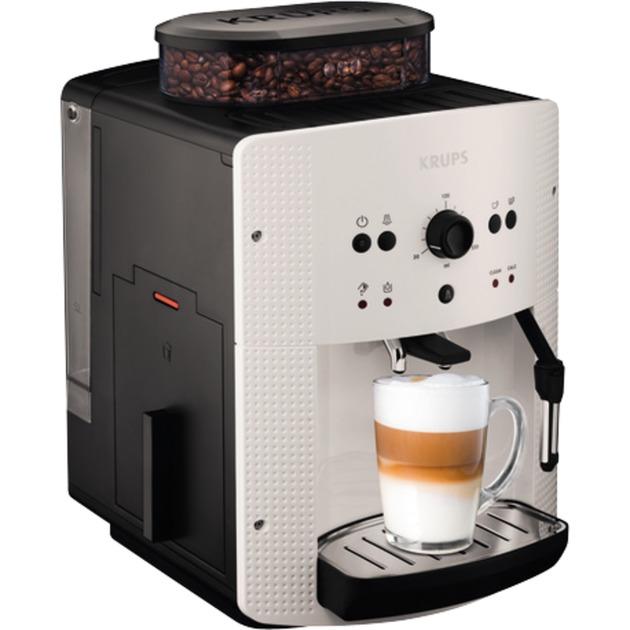 EA8105 Independiente Totalmente automática Máquina espresso 1.6L 9tazas Color blanco cafetera eléctrica, Superautomática