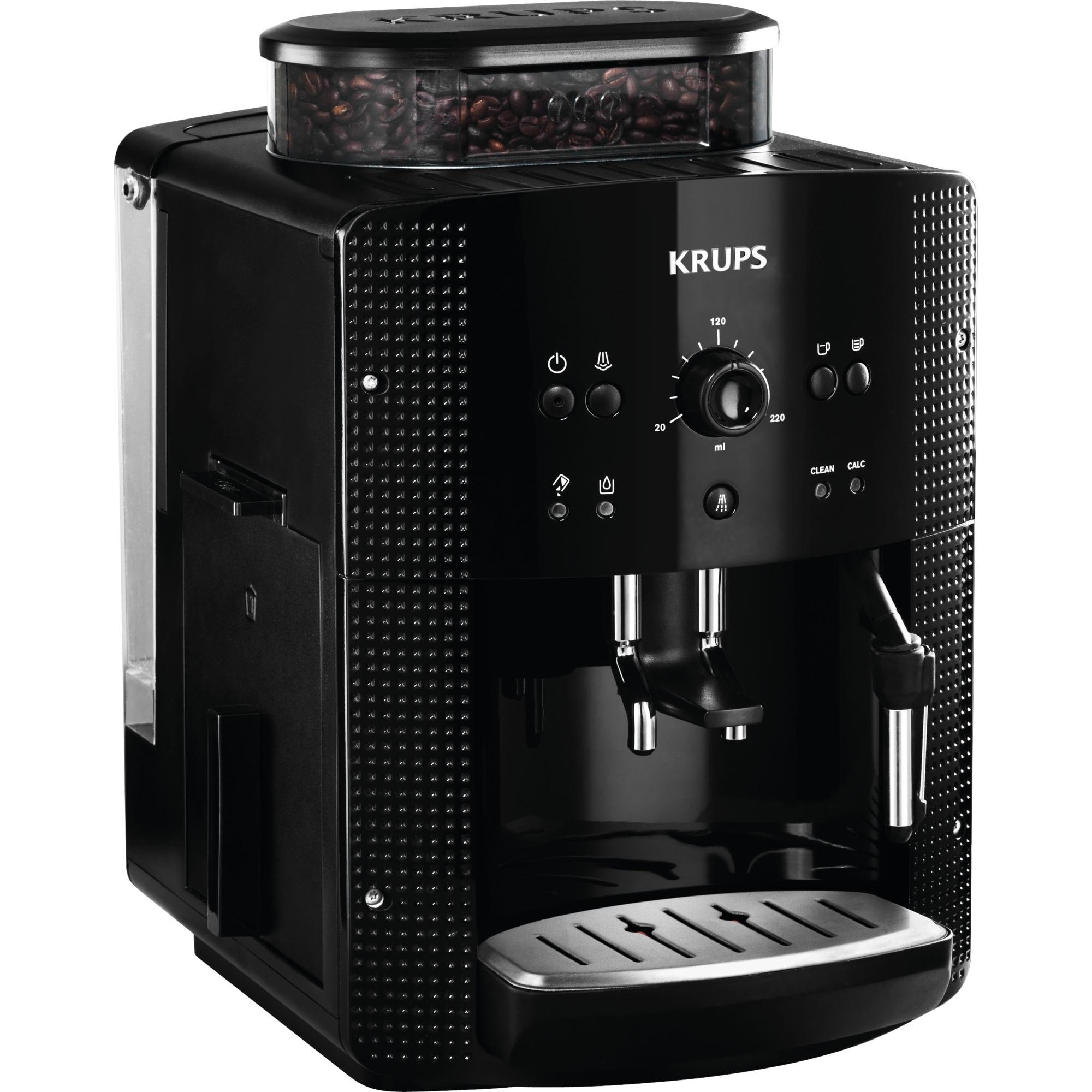 EA8108 cafetera eléctrica Independiente Máquina espresso Negro 1,8 L Totalmente automática, Superautomática