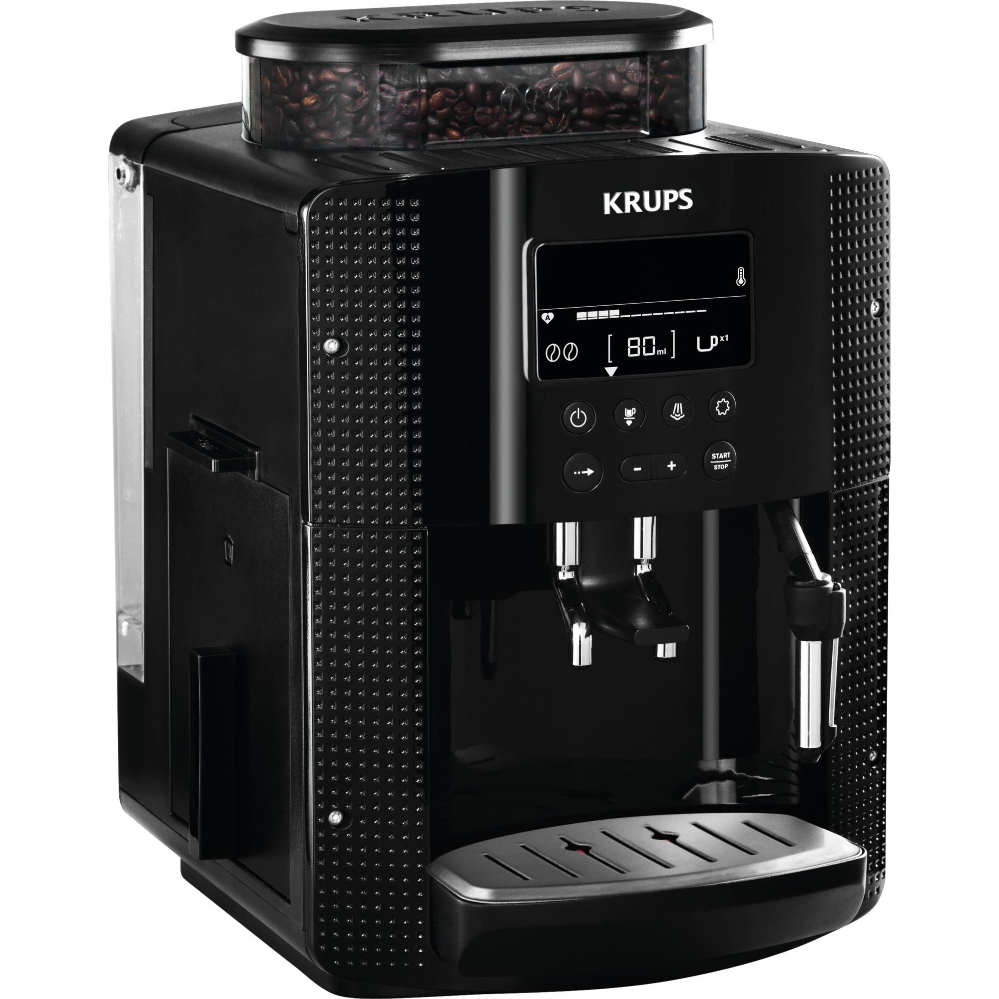 EA8150 cafetera eléctrica Independiente Máquina espresso Negro 1,7 L 2 tazas Totalmente automática, Superautomática