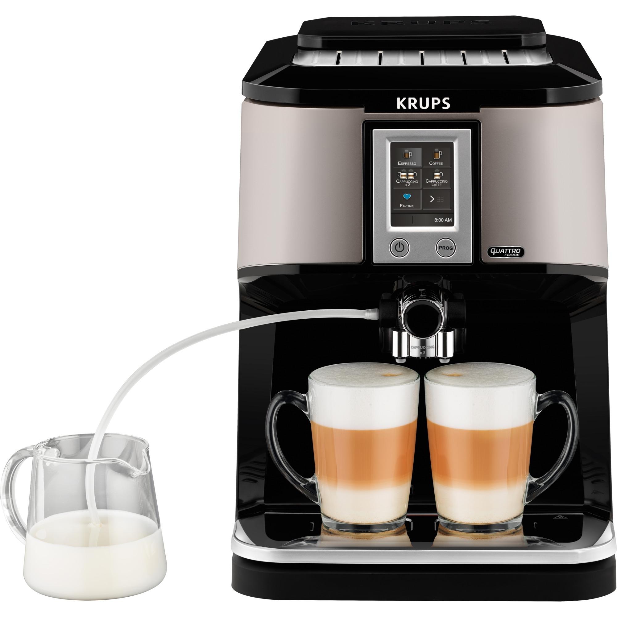 EA880E cafetera eléctrica Independiente Máquina espresso Plata 1,7 L 12 tazas Totalmente automática, Superautomática