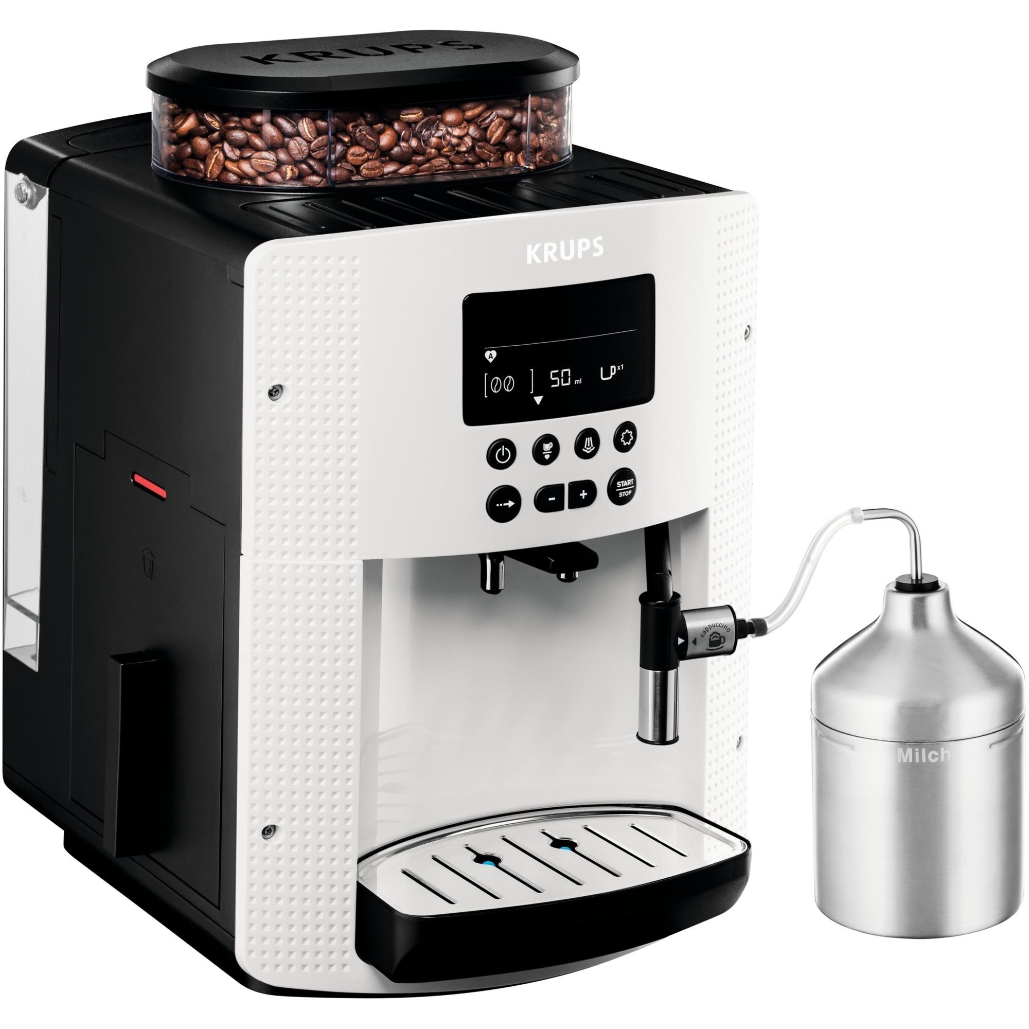 EA 8161 Independiente Máquina espresso Blanco 1,8 L Totalmente automática, Superautomática