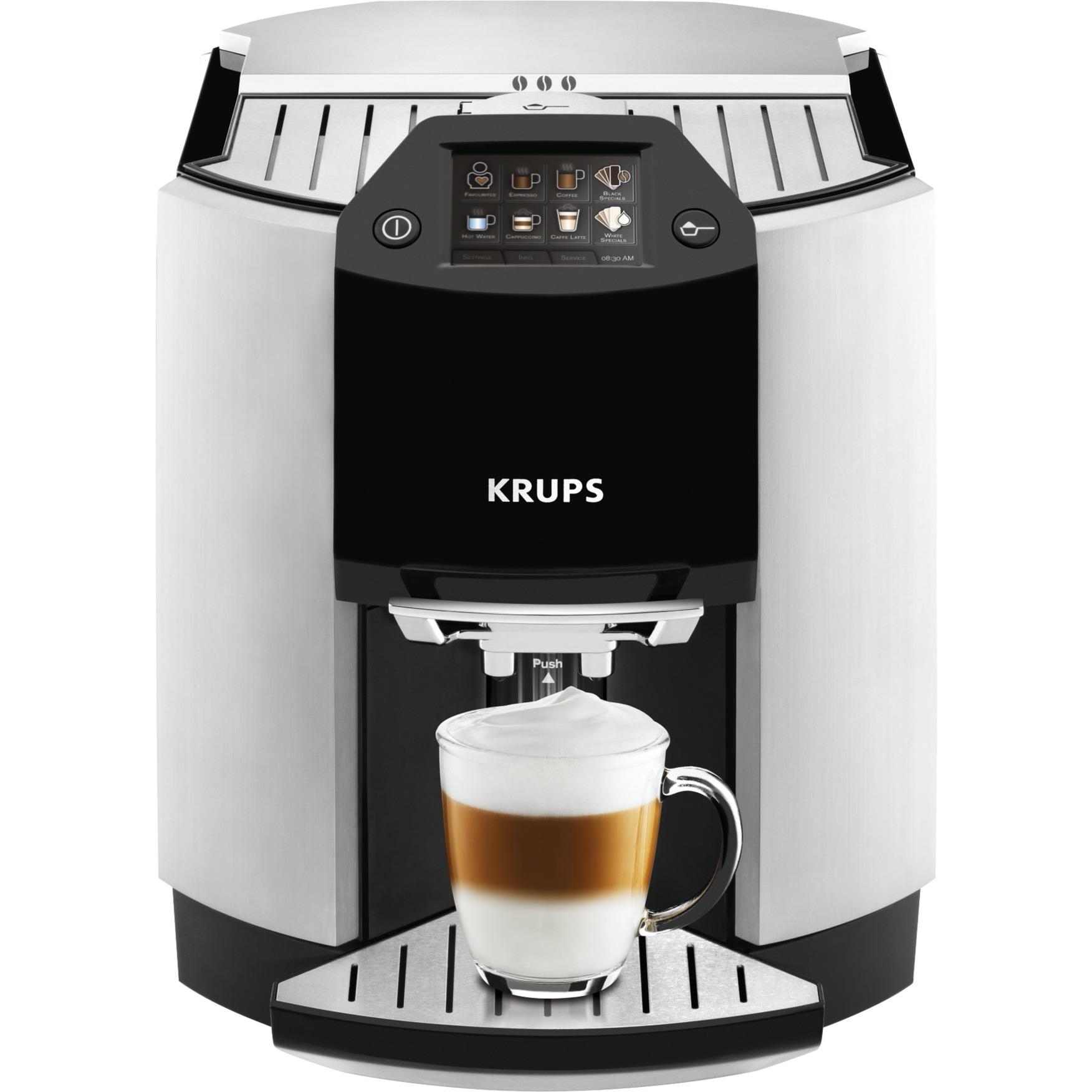 EA 9010 Independiente Totalmente automática Máquina espresso 1.7L Negro, Color blanco cafetera eléctrica, Superautomática