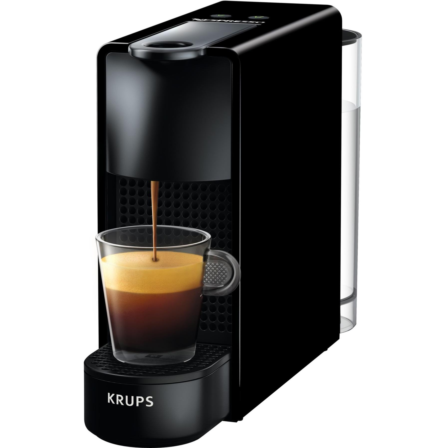 Essenza Mini XN110810 Independiente Manual Máquina de café en cápsulas 0.6L 1tazas Negro, Cafetera de cápsulas