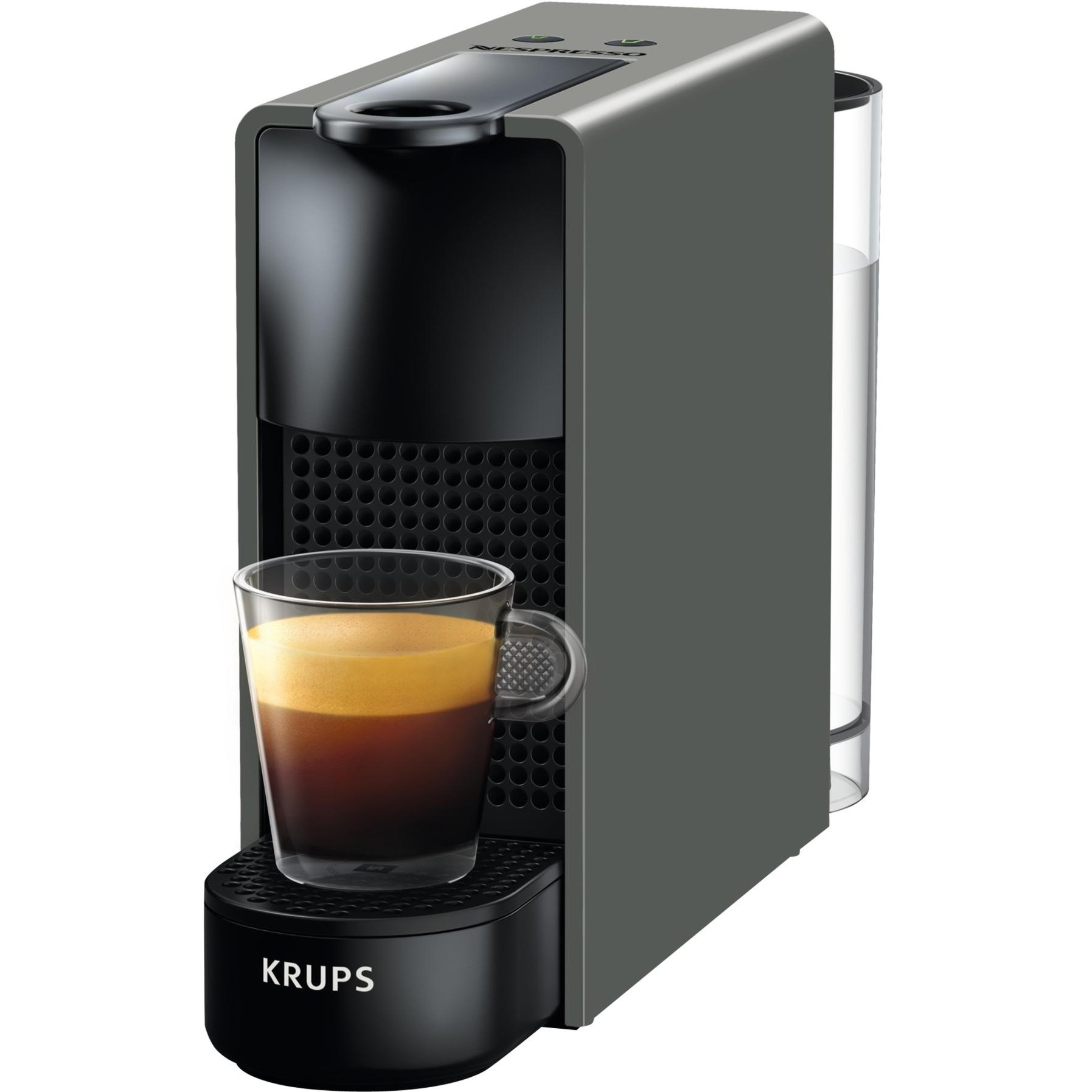 Essenza Mini XN110B10 Independiente Máquina de café en cápsulas Negro, Gris 0,6 L 1 tazas Manual, Cafetera de cápsulas