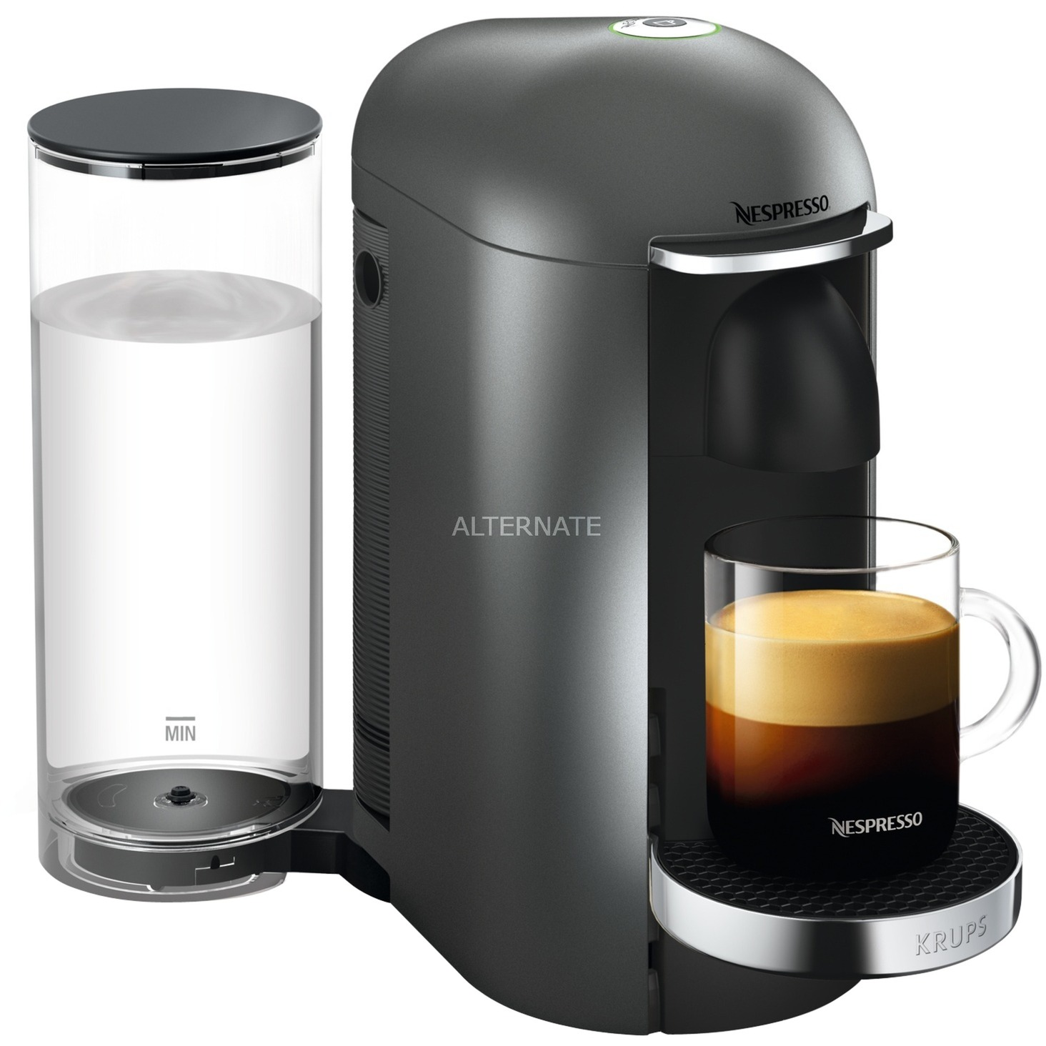Evidence XN900T Independiente Máquina de café en cápsulas Negro 1,7 L Semi-automática, Cafetera de cápsulas