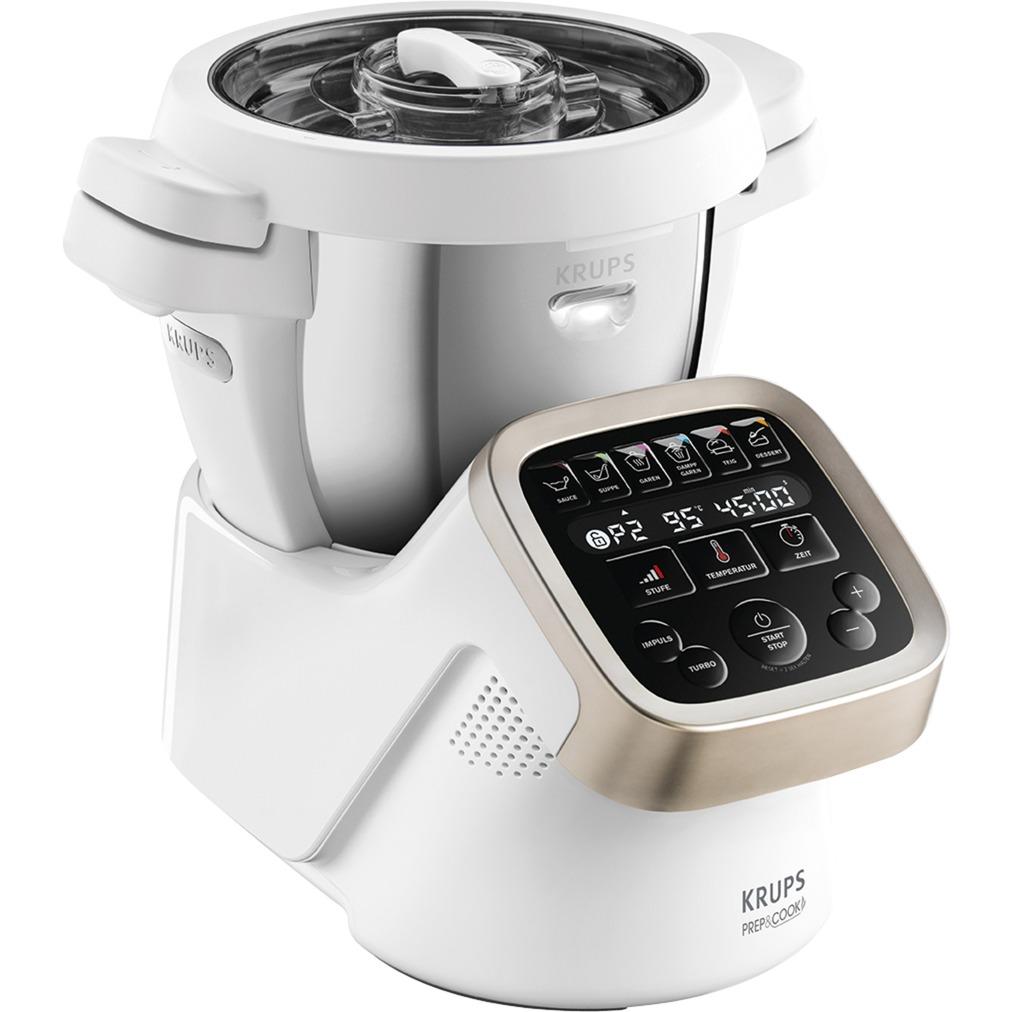 HP 5031 1550W 4.5L Plata, Color blanco robot de cocina, Cocina multi