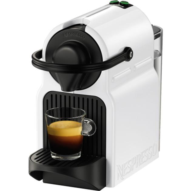Inissia XN1001 Independiente Máquina de café en cápsulas 0.7L Blanco, Cafetera de cápsulas