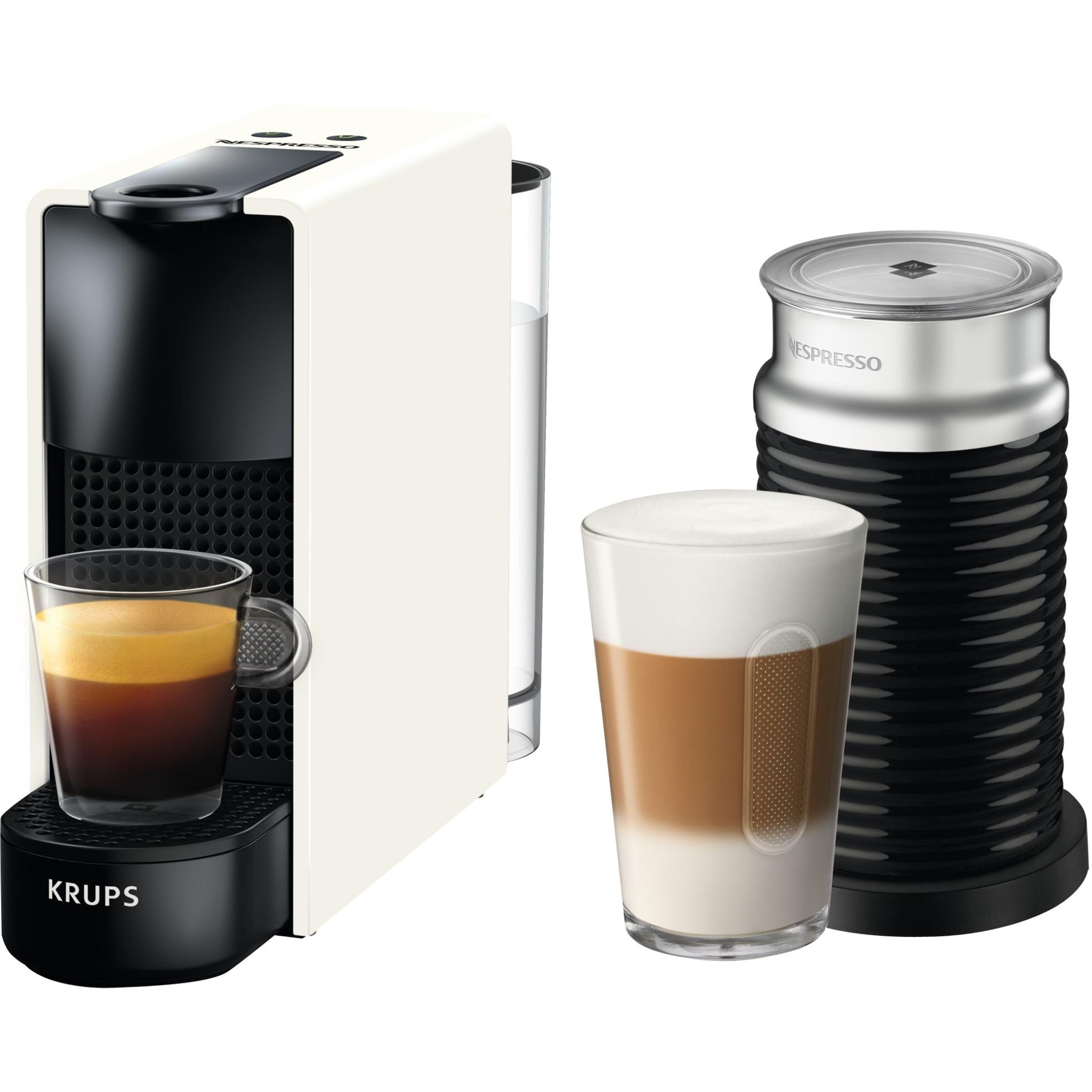 XN1111 cafetera eléctrica Independiente Máquina de café en cápsulas Blanco 0,7 L Totalmente automática, Cafetera de cápsulas