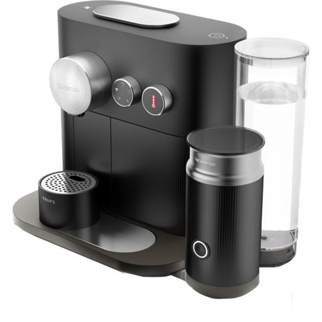 XN6018 Independiente Semi-automática Máquina de café en cápsulas 1.2L Negro cafetera eléctrica, Cafetera de cápsulas