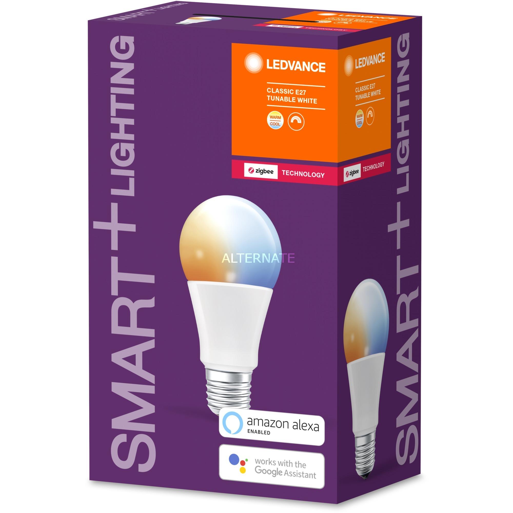 SMART+ Classic Tunable White Bombilla inteligente Blanco ZigBee 8,5 W, Lámpara LED