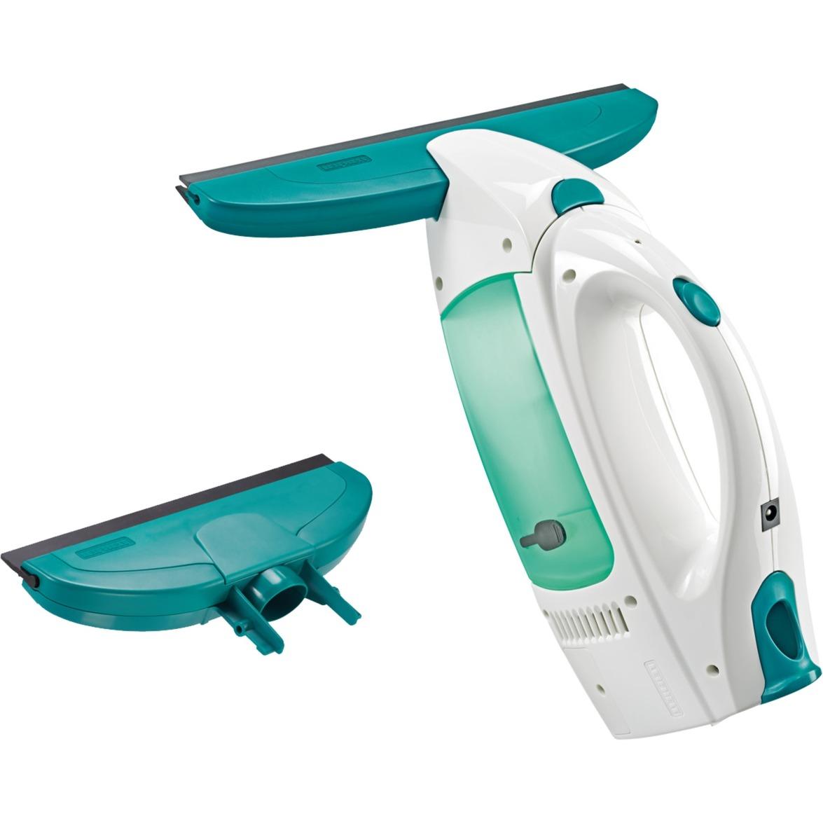 51004 Gris, Blanco limpiador eléctrico ventana, Aspiradora de ventanas
