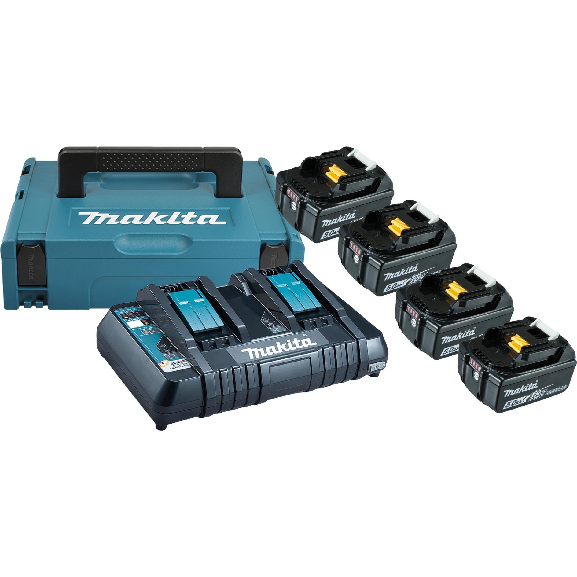 197626-8 cargador y batería cargable Battery & charger set, Conjunto