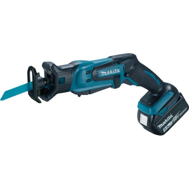 DJR183RT1J 18V Negro, Azul sierra de sable inalámbrica